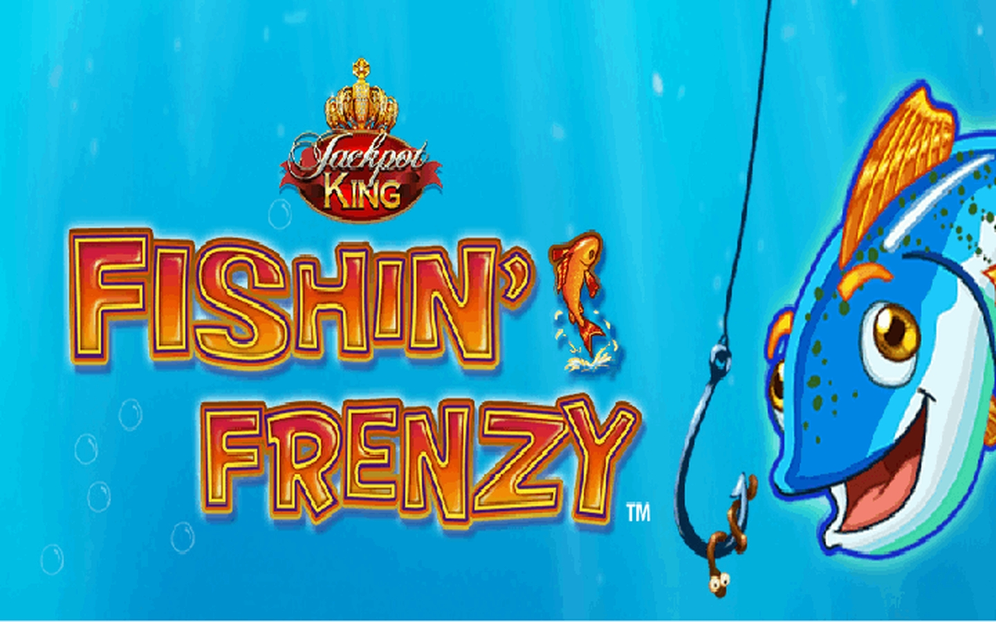 The Fishin Frenzy Jackpot King Online Slot Demo Game by Blueprint Gaming