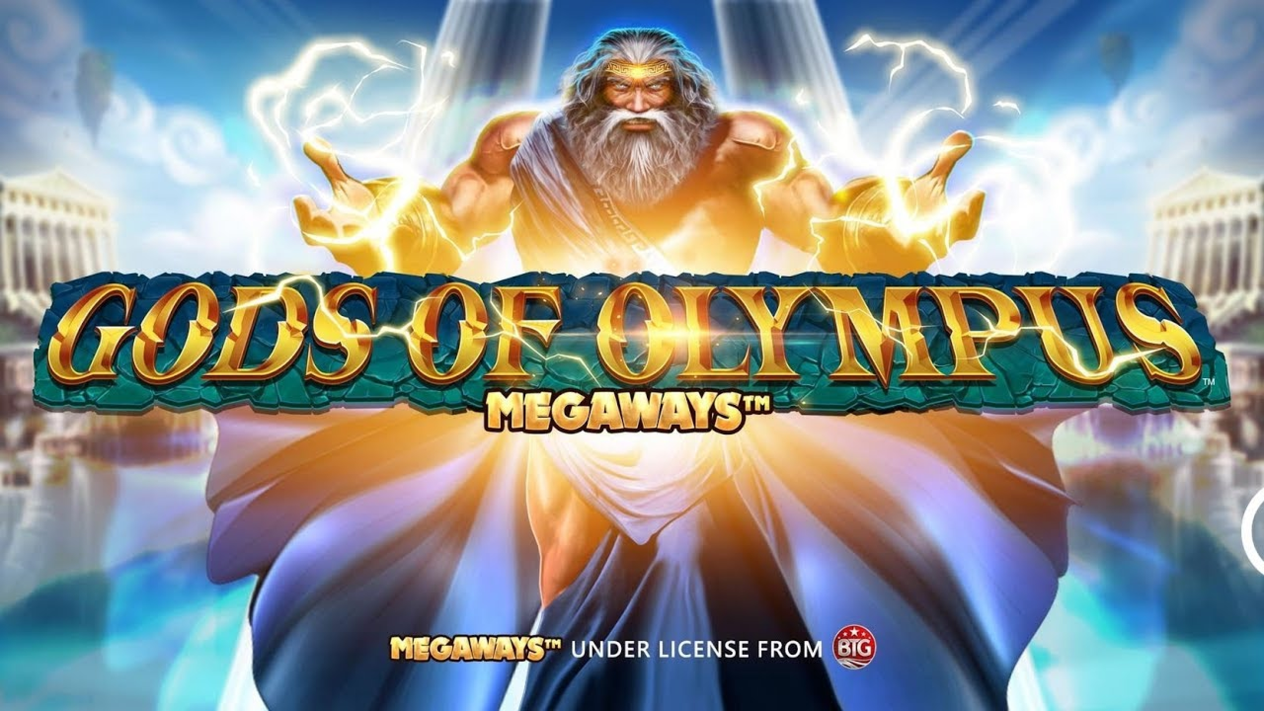 The Gods of Olympus Megaways Online Slot Demo Game by Blueprint Gaming