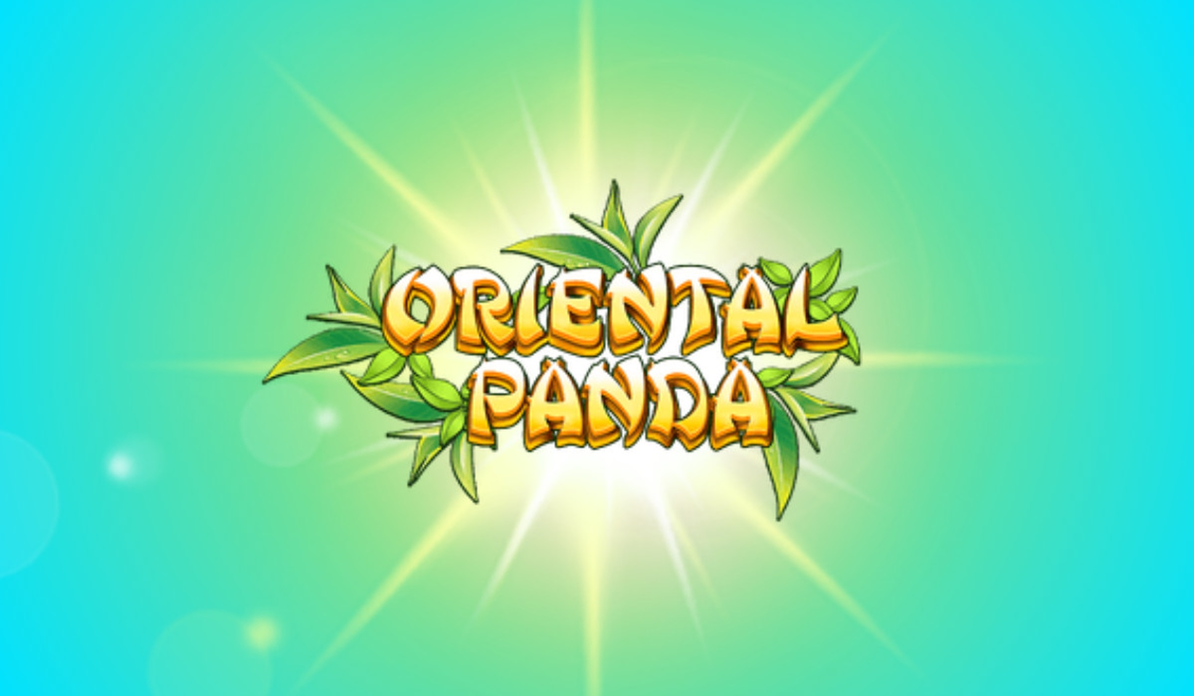 The Oriental Panda Online Slot Demo Game by Blueprint Gaming