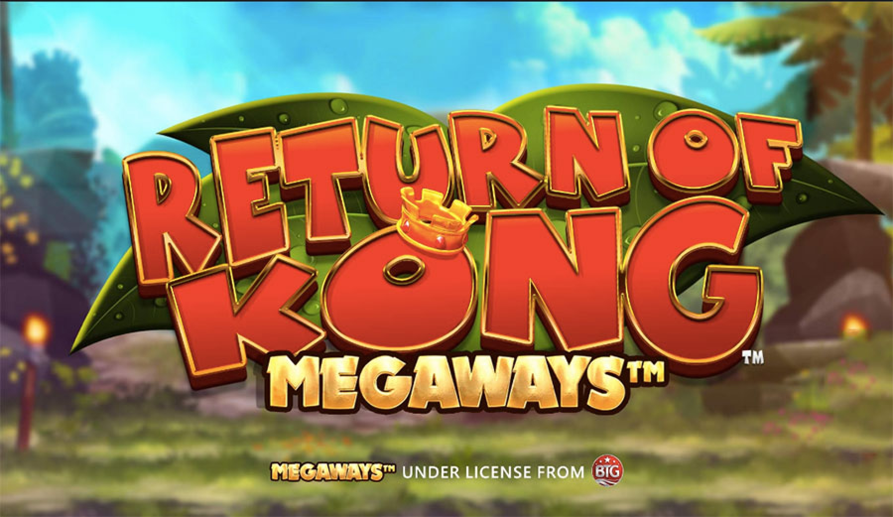 The Return of Kong Megaways Online Slot Demo Game by Blueprint Gaming