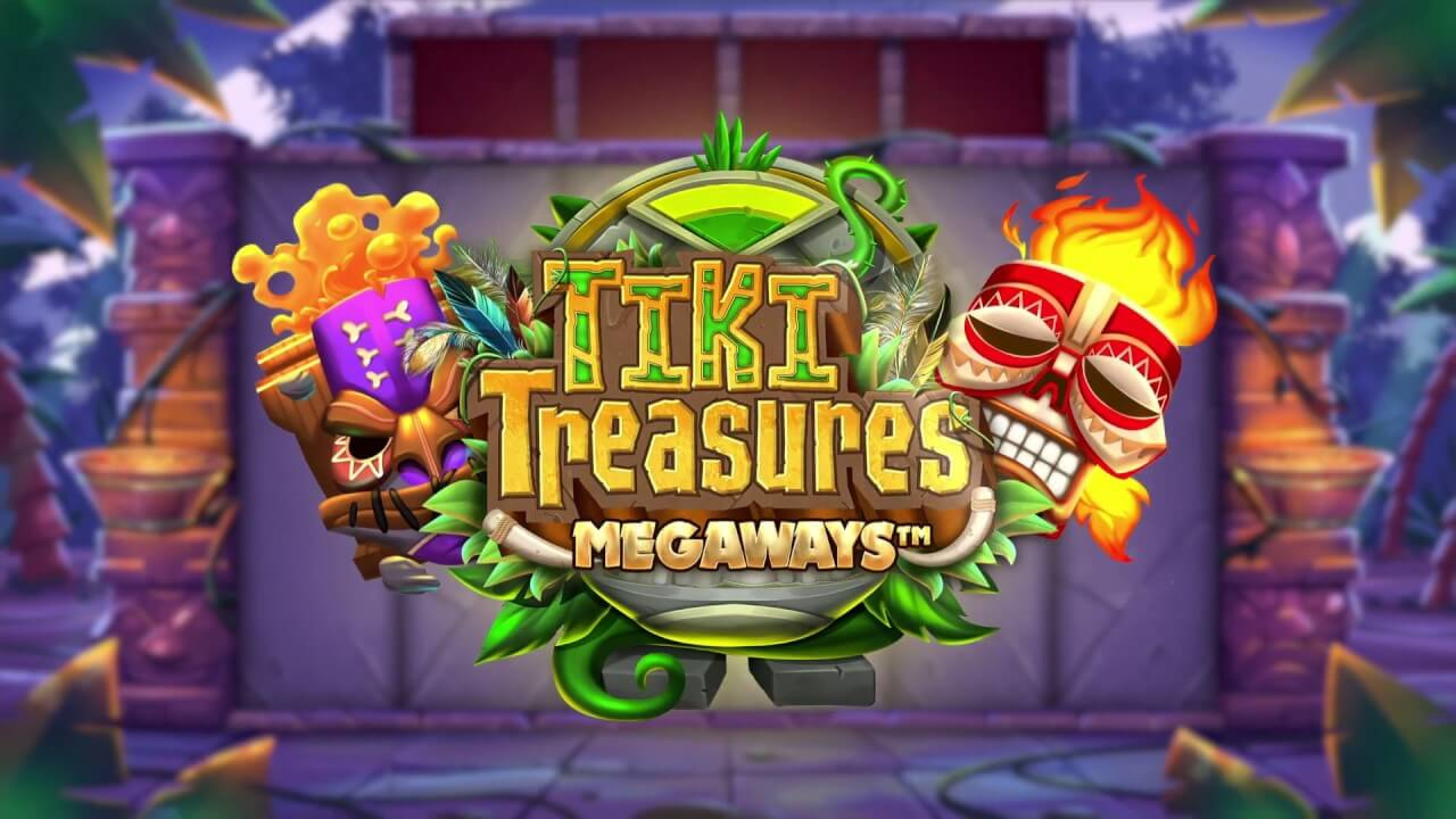 The Tiki Treasures Megaways Online Slot Demo Game by Blueprint Gaming
