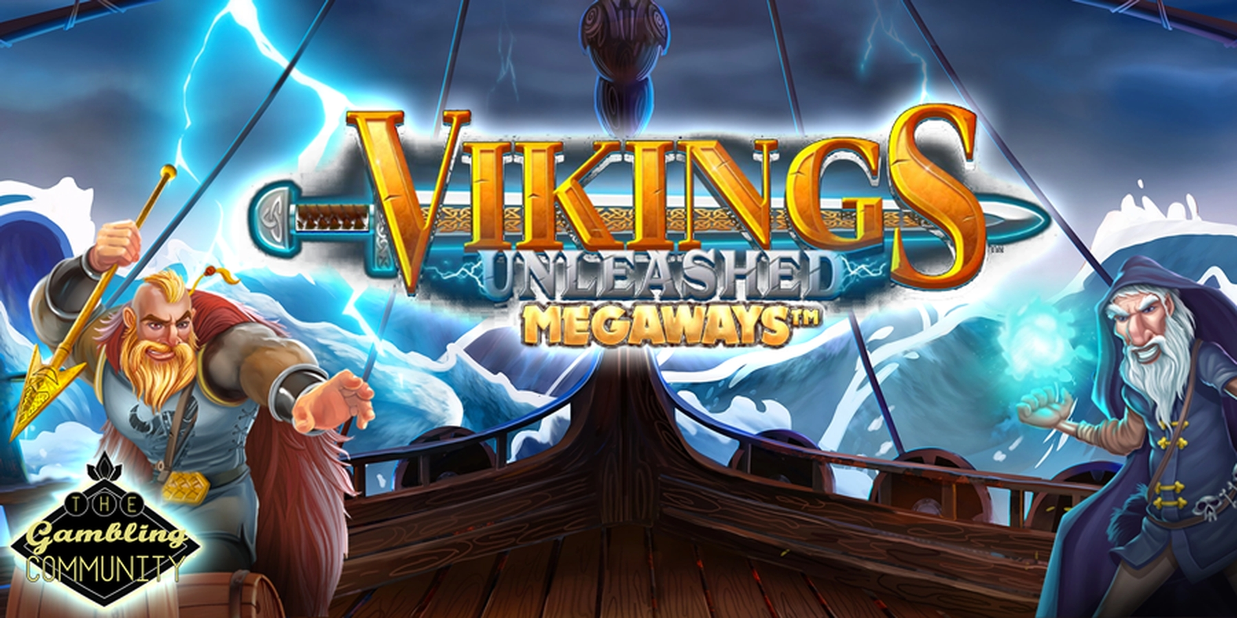 The Vikings Unleashed Megaways Online Slot Demo Game by Blueprint Gaming