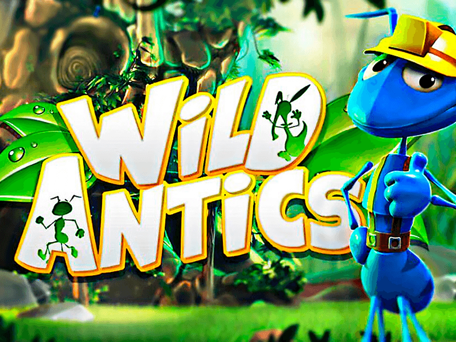 The Wild Antics Online Slot Demo Game by Blueprint Gaming