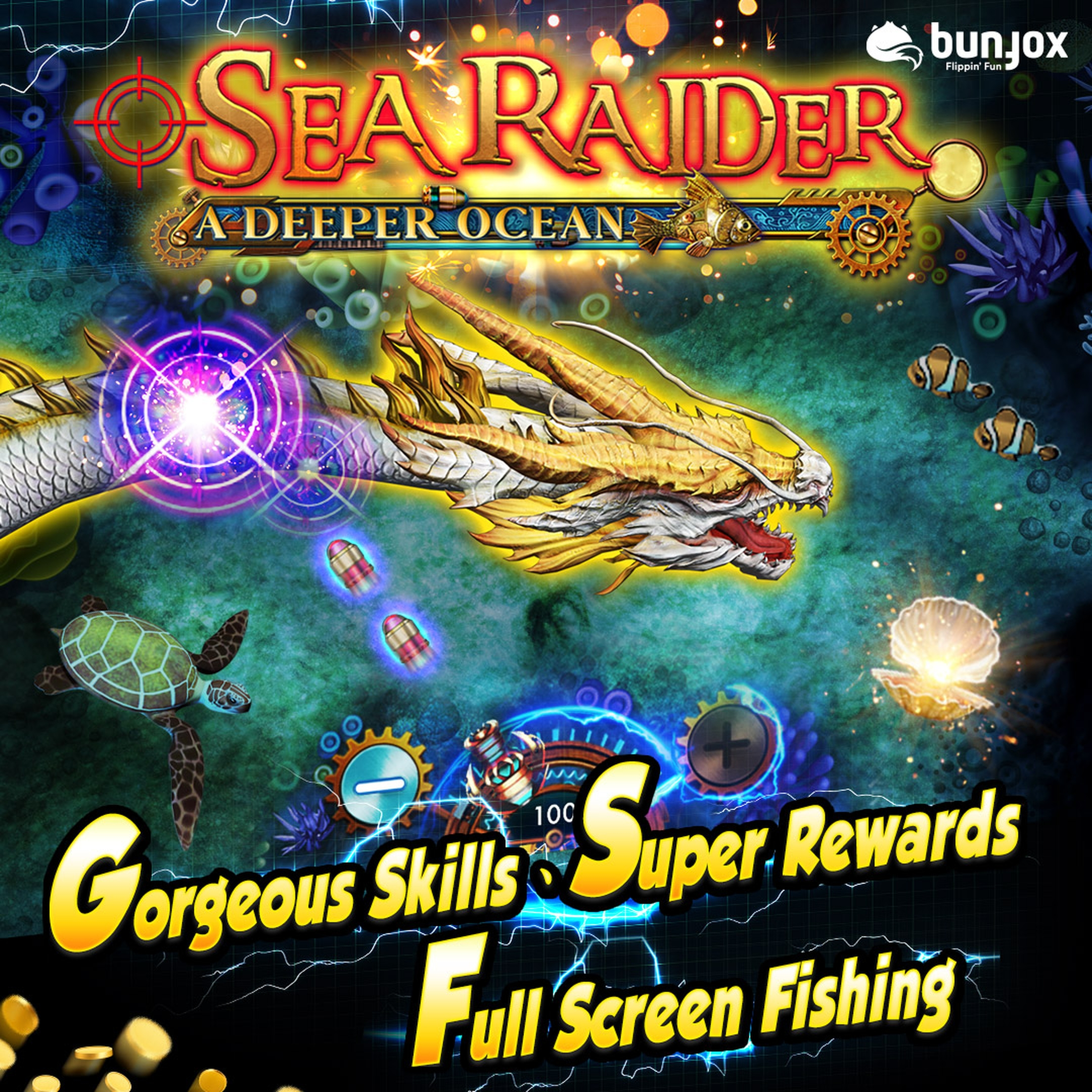 Info of Sea Raider Slot Game by Bunfox