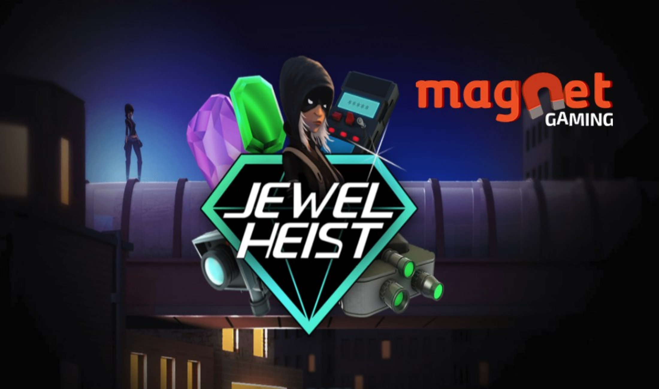 The Jewel Heist Online Slot Demo Game by Magnet Gaming