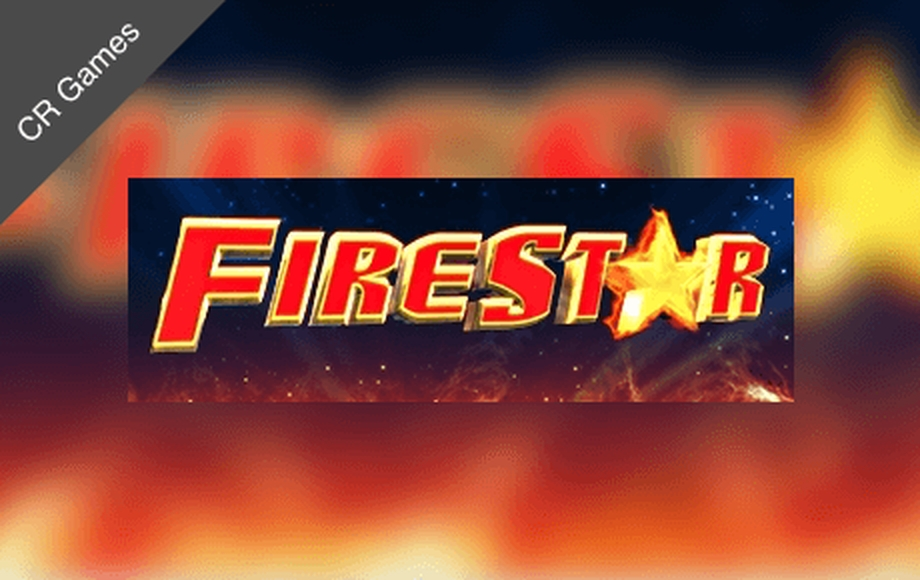 The Fire Star Online Slot Demo Game by CR Games
