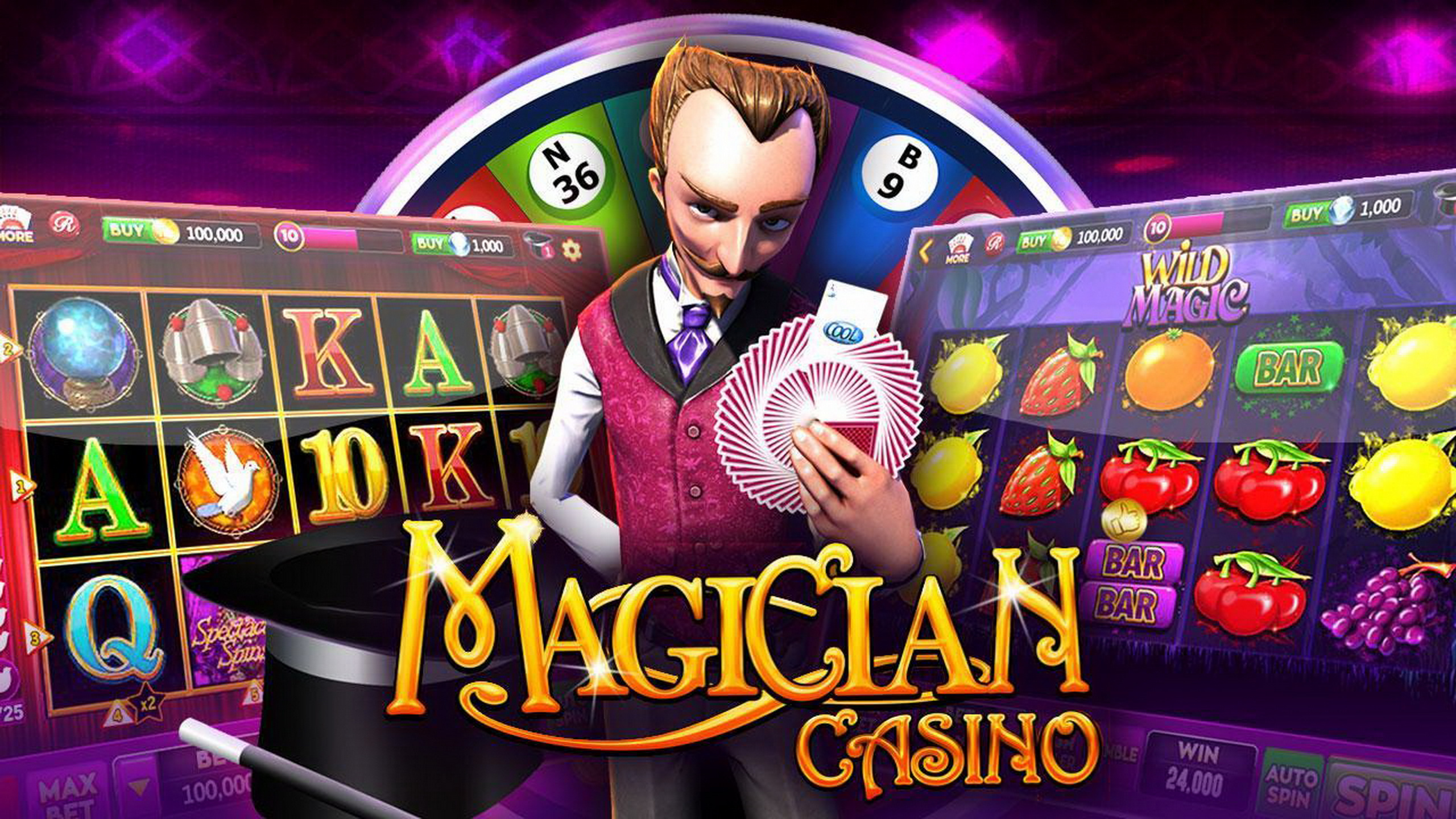 The The Magician: Trick Picks Online Slot Demo Game by CR Games