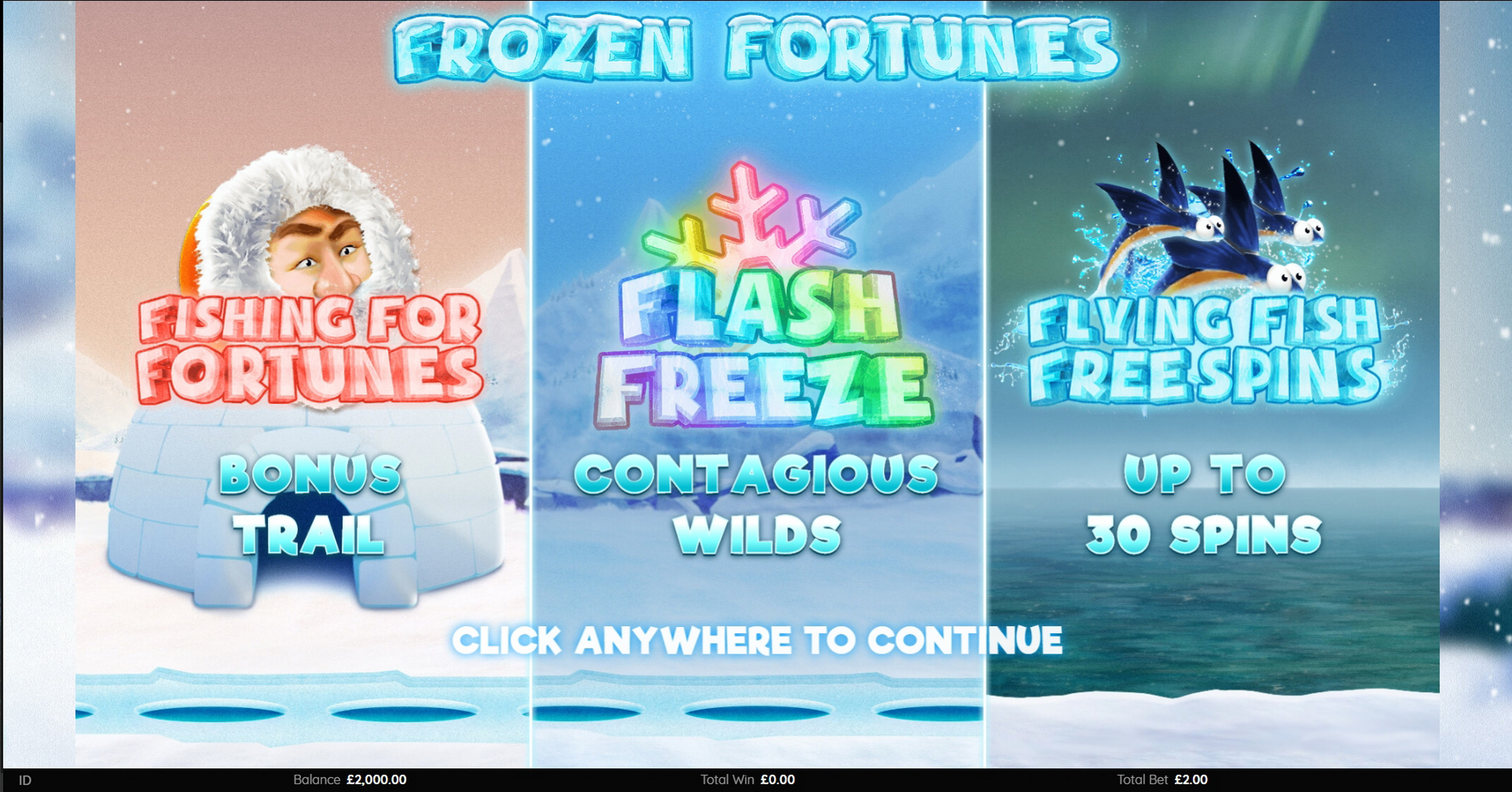 Play Frozen Fortunes Free Casino Slot Game by Endemol Games