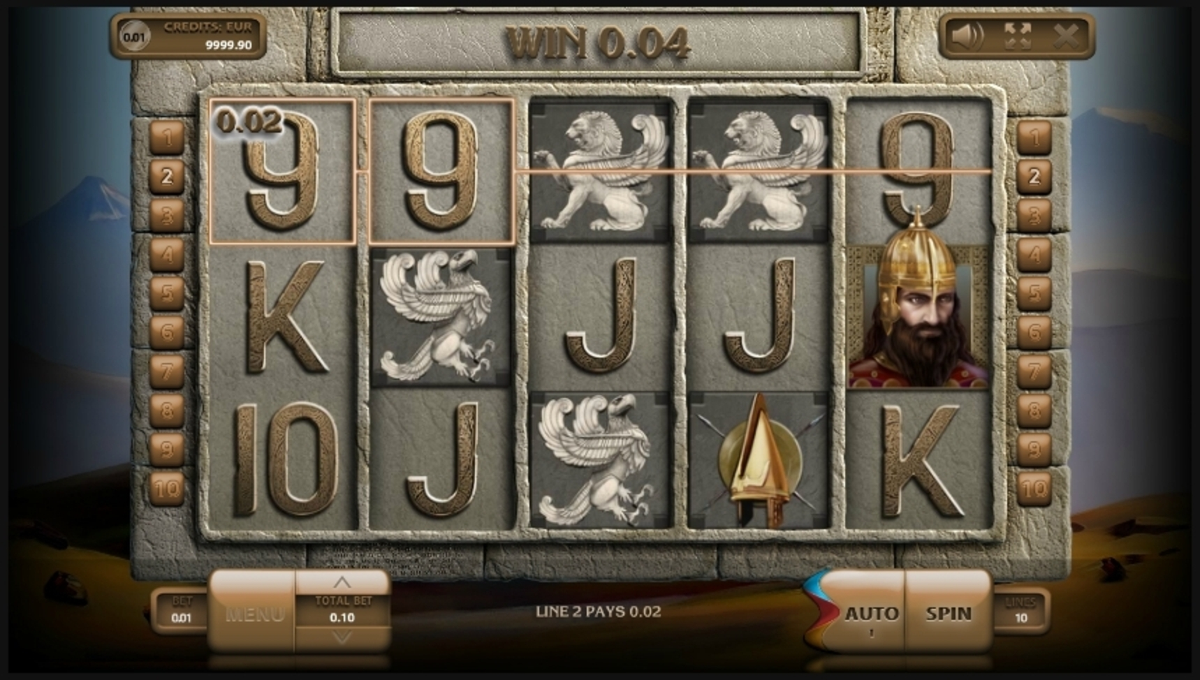 Win Money in Urartu Free Slot Game by Endorphina