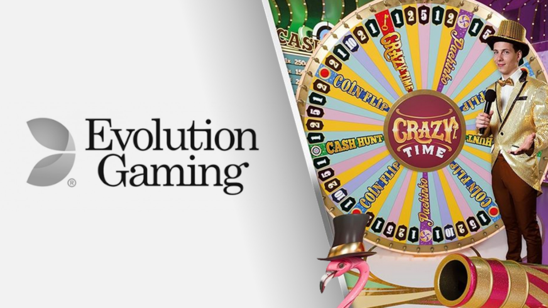 The Crazy Time Online Slot Demo Game by Evolution Gaming
