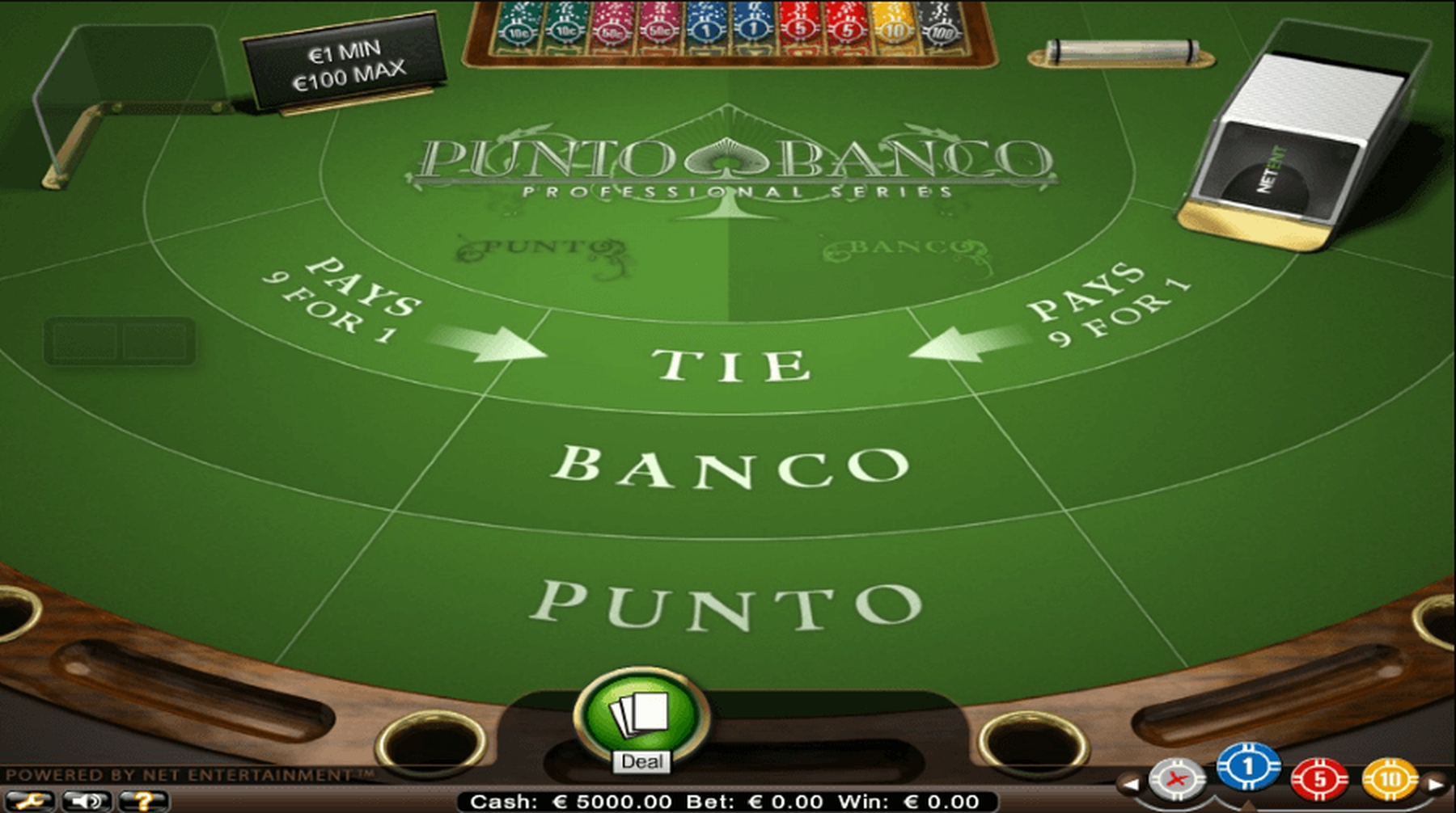 The Punto Banco (Evolution Gaming) Online Slot Demo Game by Evolution Gaming