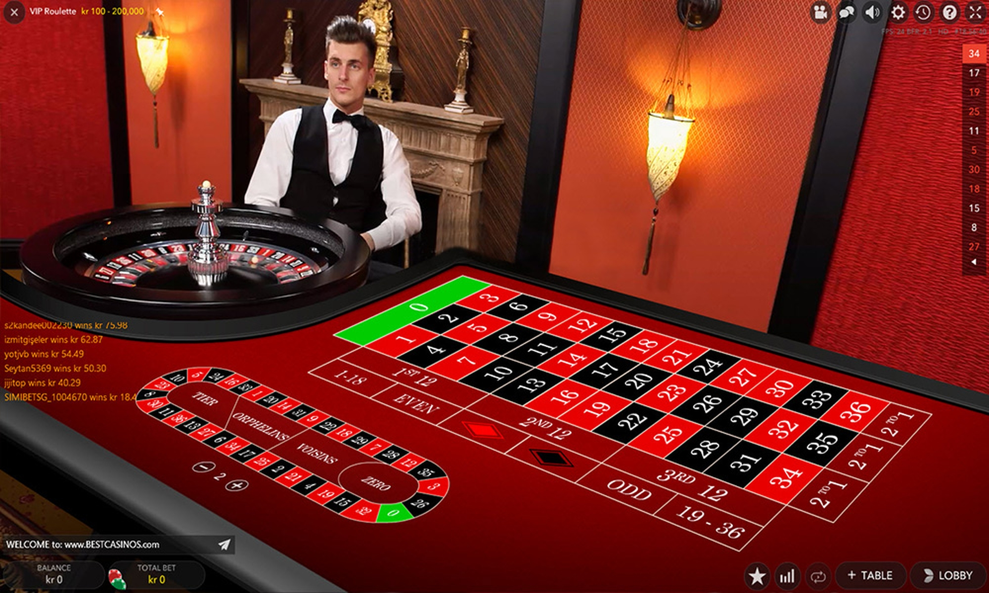 The Vip Roulette Live Casino (Evolution Gaming) Online Slot Demo Game by Evolution Gaming