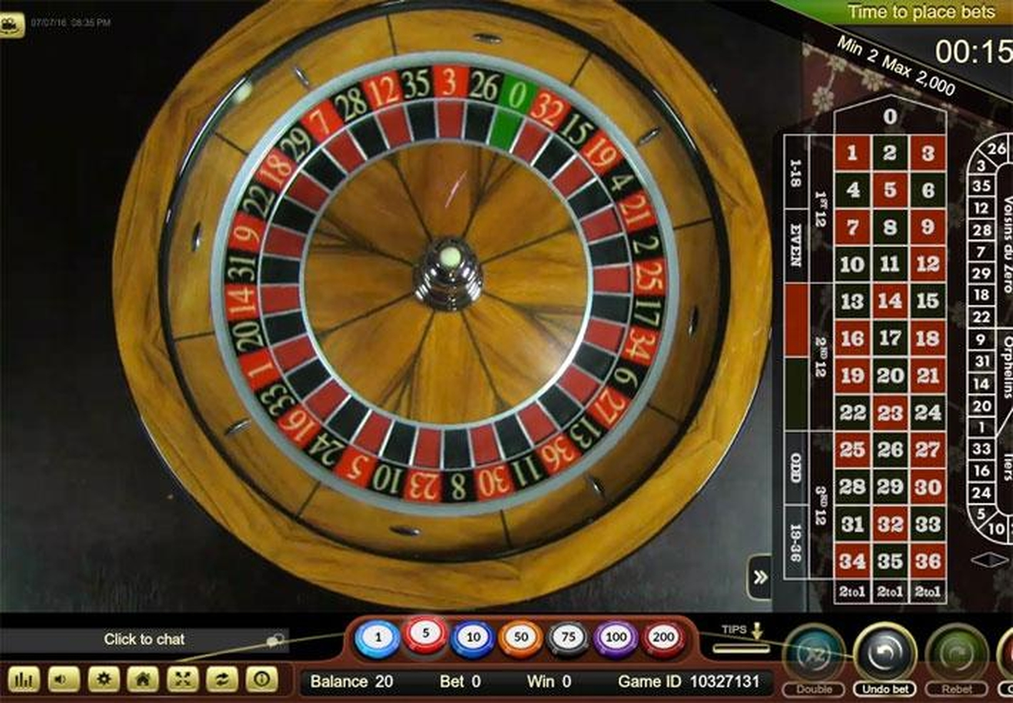 The Live Royal Casino Roulette (Ezugi) Online Slot Demo Game by Ezugi