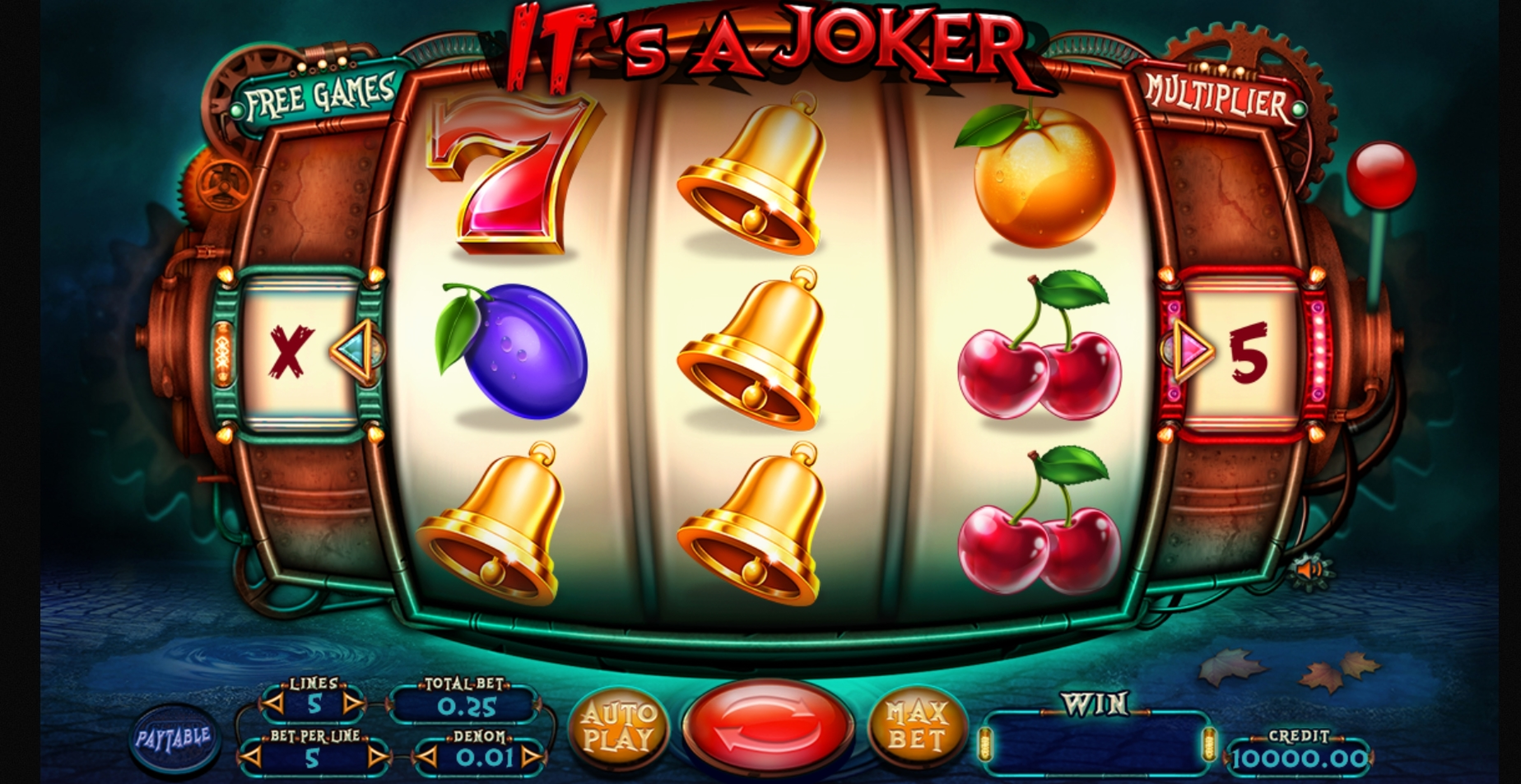 Reels in Its a Joker Slot Game by Felix Gaming