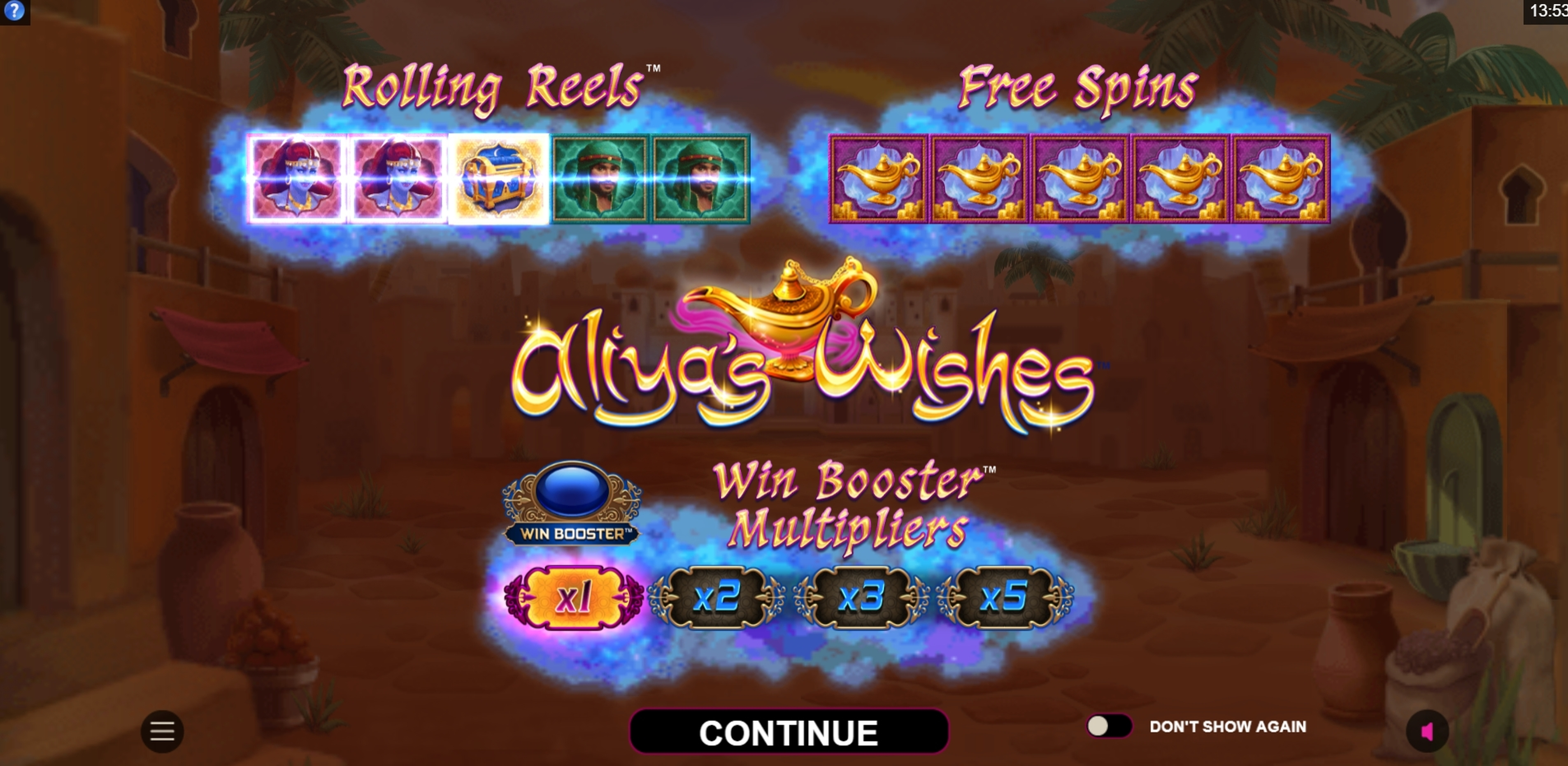 Play Aliyas Wishes Free Casino Slot Game by Fortune Factory Studios