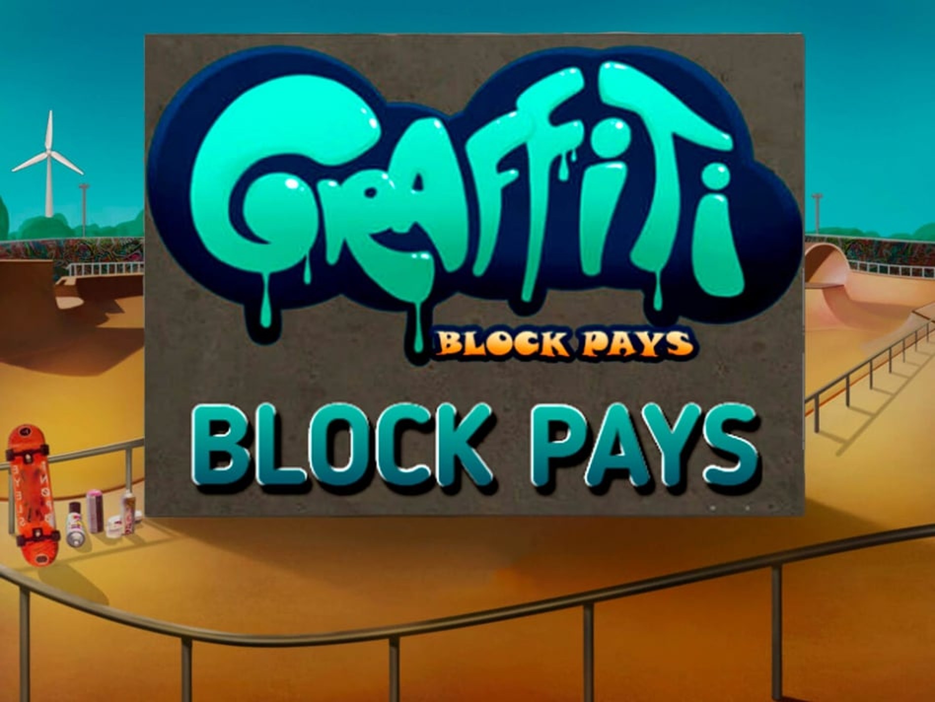 The Graffiti: Block Pays Online Slot Demo Game by Fugaso
