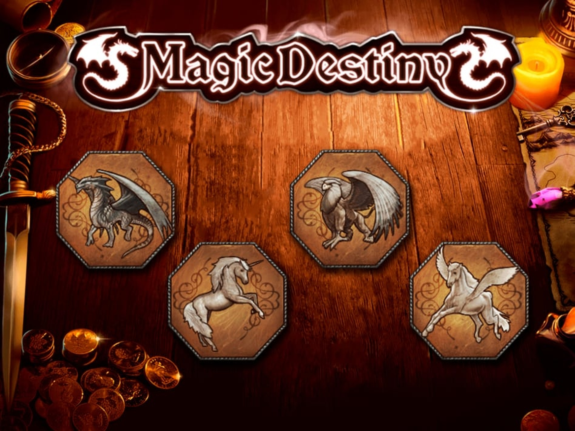 The Magic Destiny Online Slot Demo Game by Fugaso