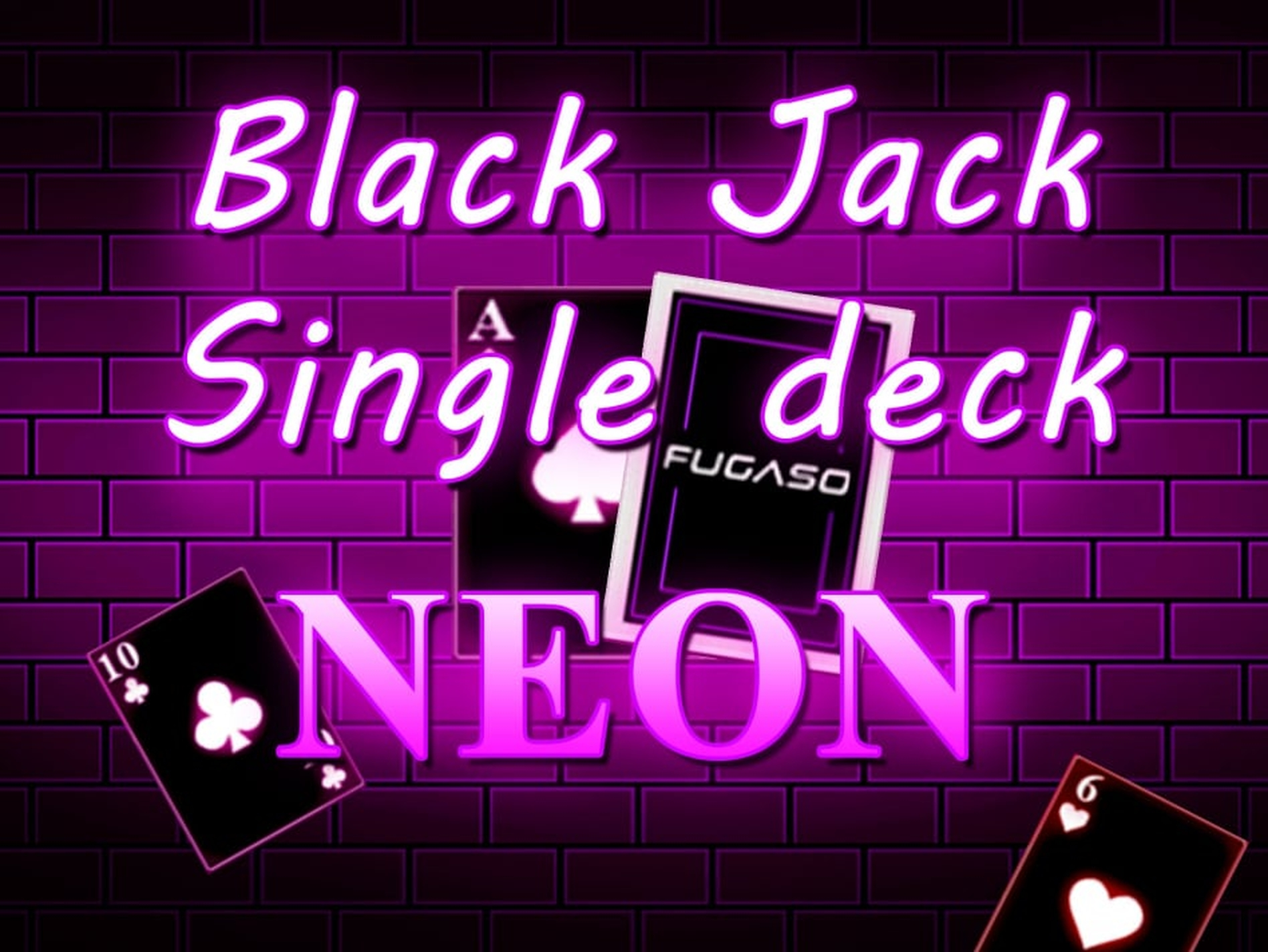 The Neon Blackjack Single Deck Online Slot Demo Game by Fugaso