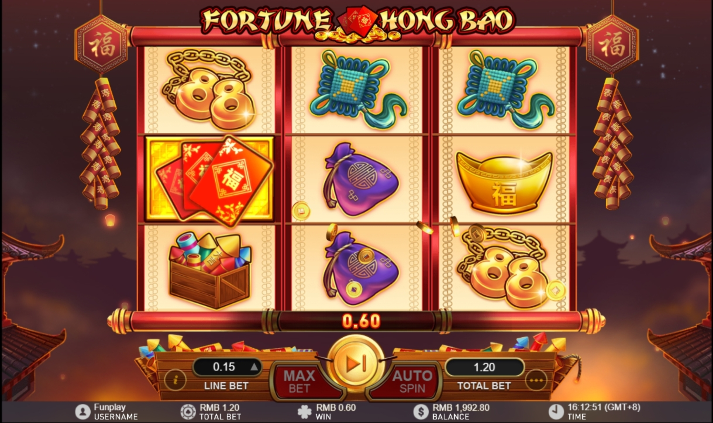 Win Money in Fortune Hong Bao Free Slot Game by GamePlay