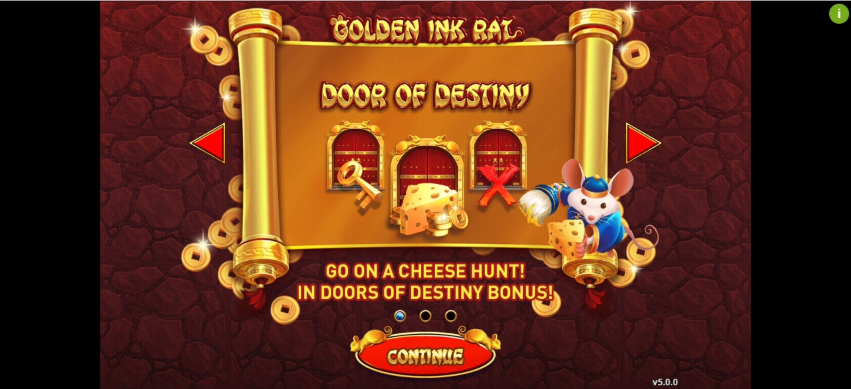 Play Golden Ink Rat Free Casino Slot Game by GamePlay