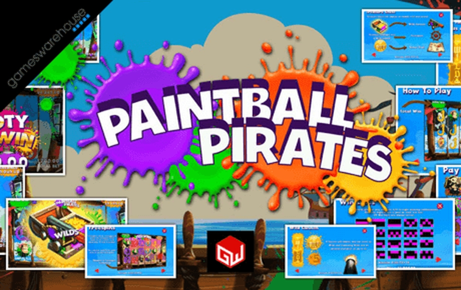 The Paintball Pirates Online Slot Demo Game by Games Warehouse