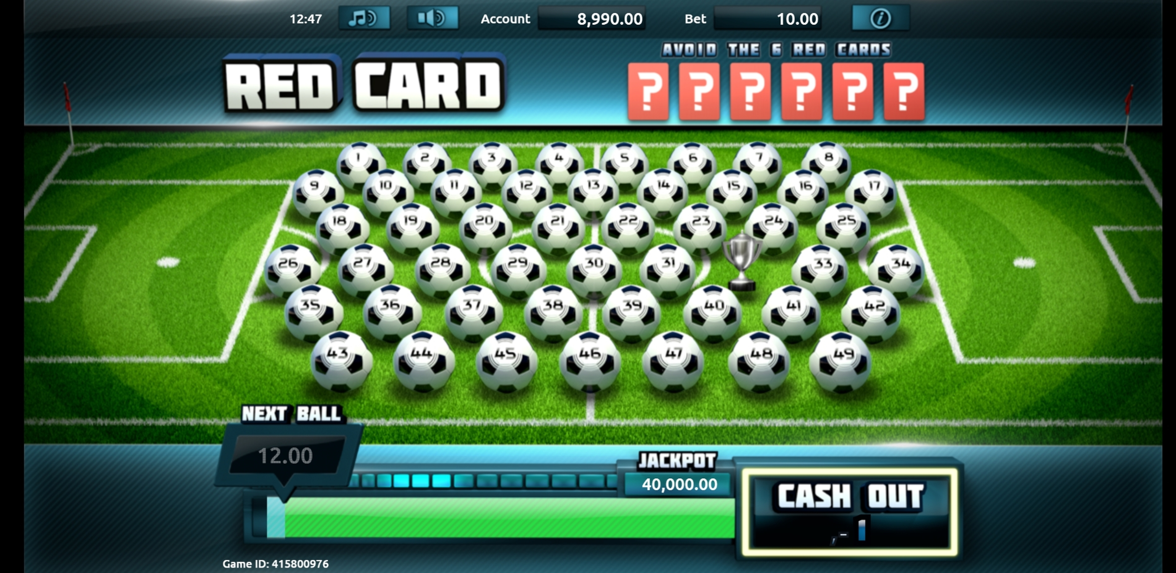 Win Money in Boss the Ball Free Slot Game by gamevy