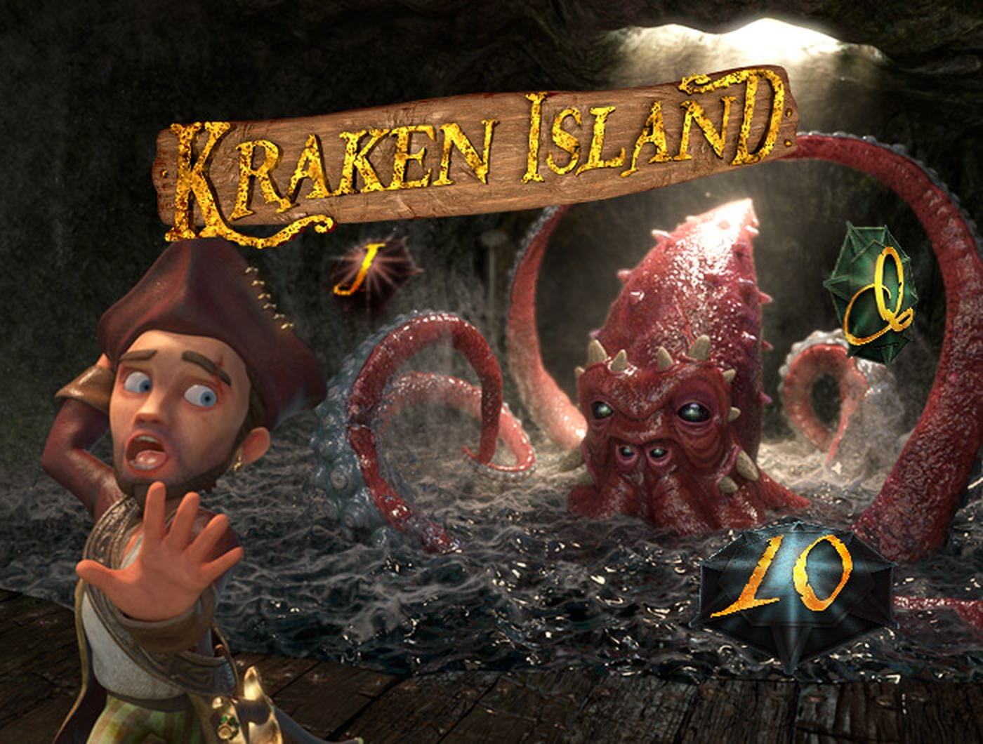 The Kraken Island Online Slot Demo Game by Gamshy
