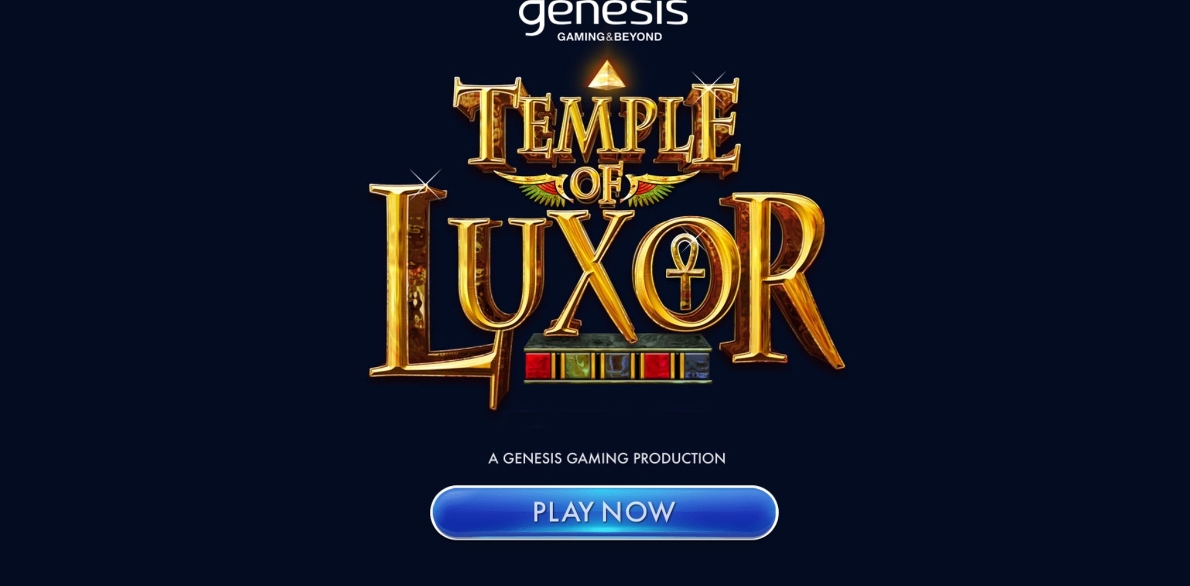 Play Temple of Luxor Free Casino Slot Game by Genesis