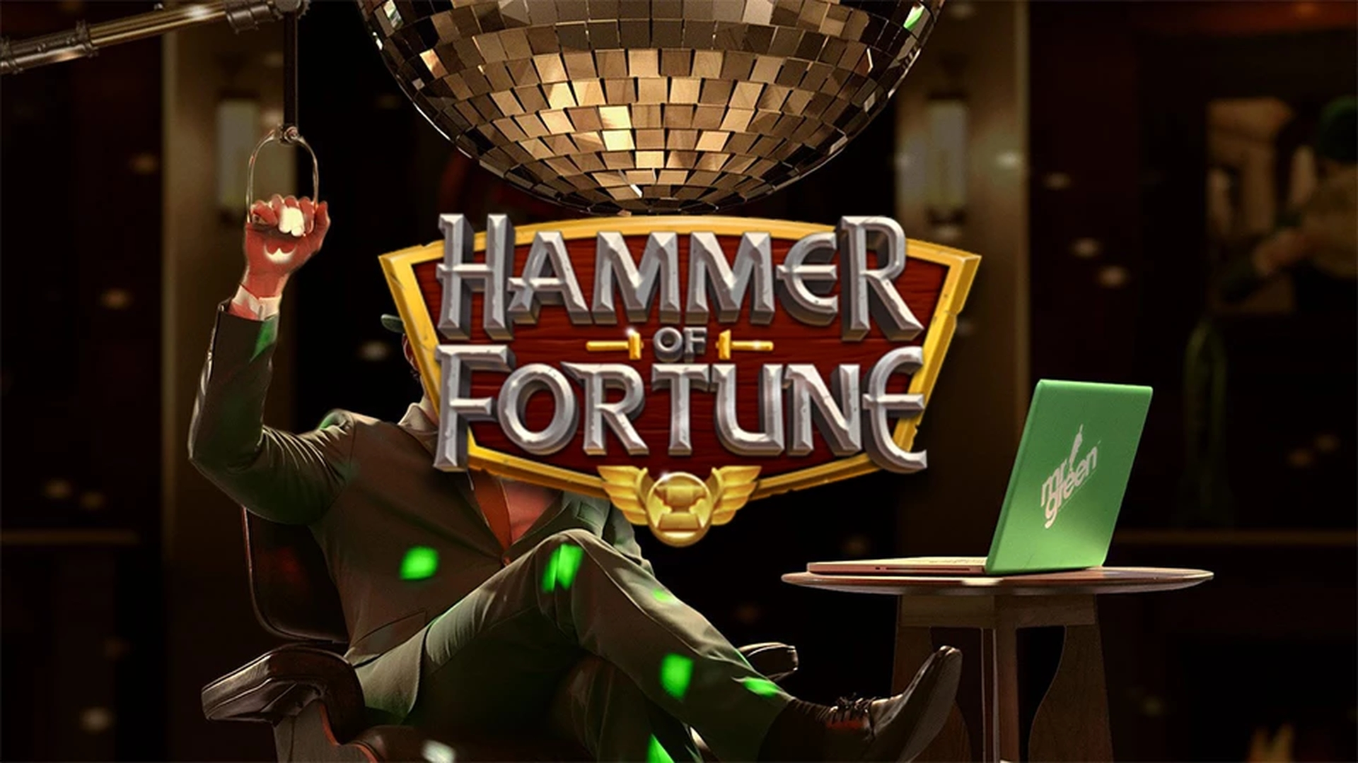 The Hammer of Fortune Online Slot Demo Game by Green Jade Games