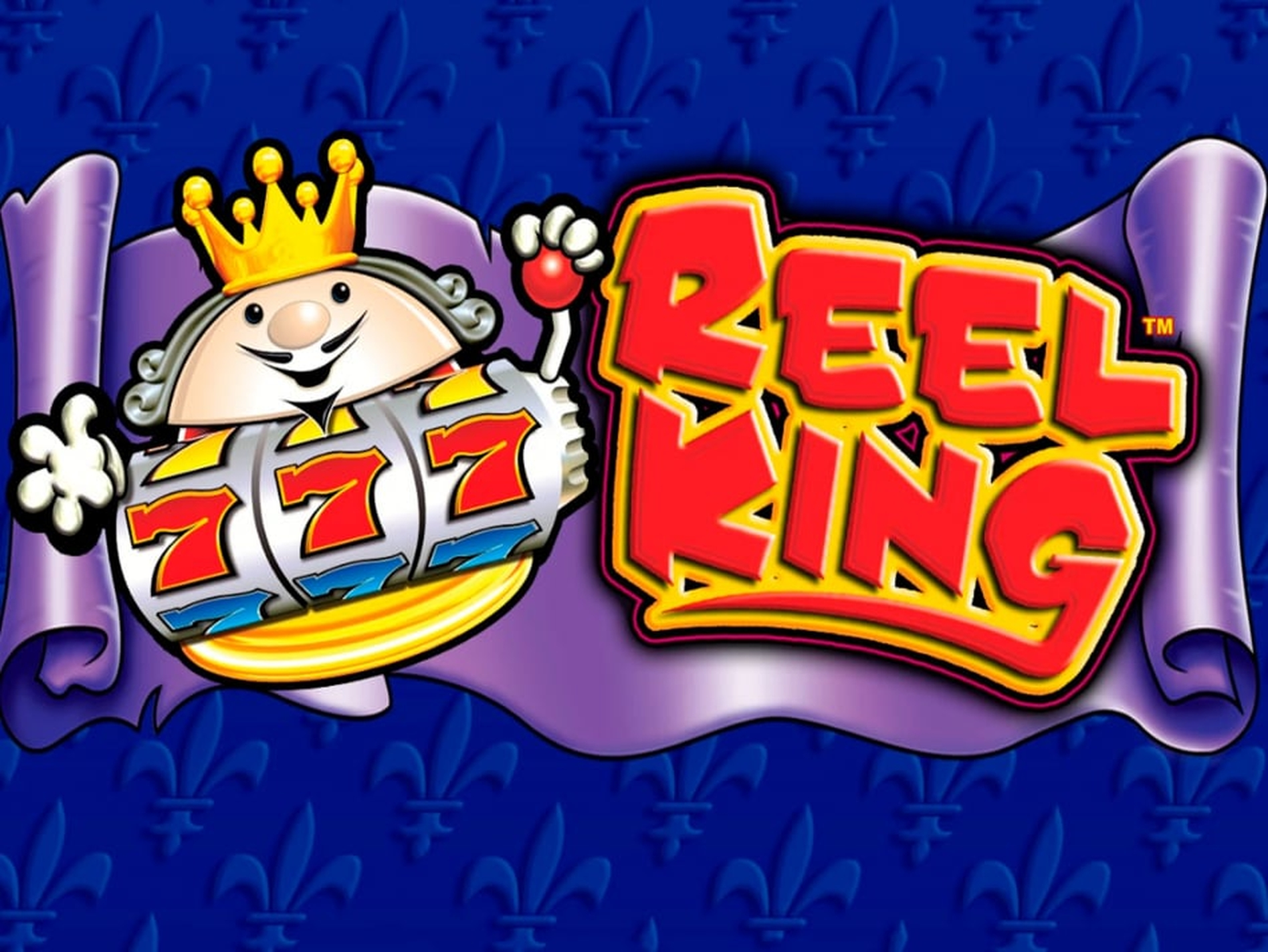 Reels in Reel King Slot Game by Greentube