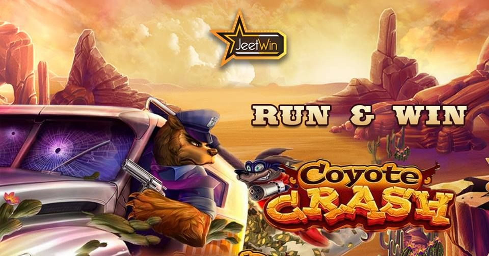 The Coyote Crash Online Slot Demo Game by Habanero