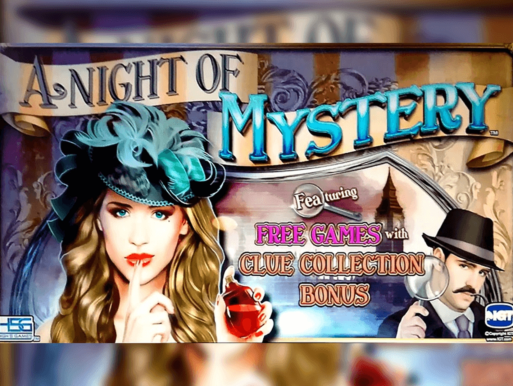 The A Night of Mystery Online Slot Demo Game by High 5 Games
