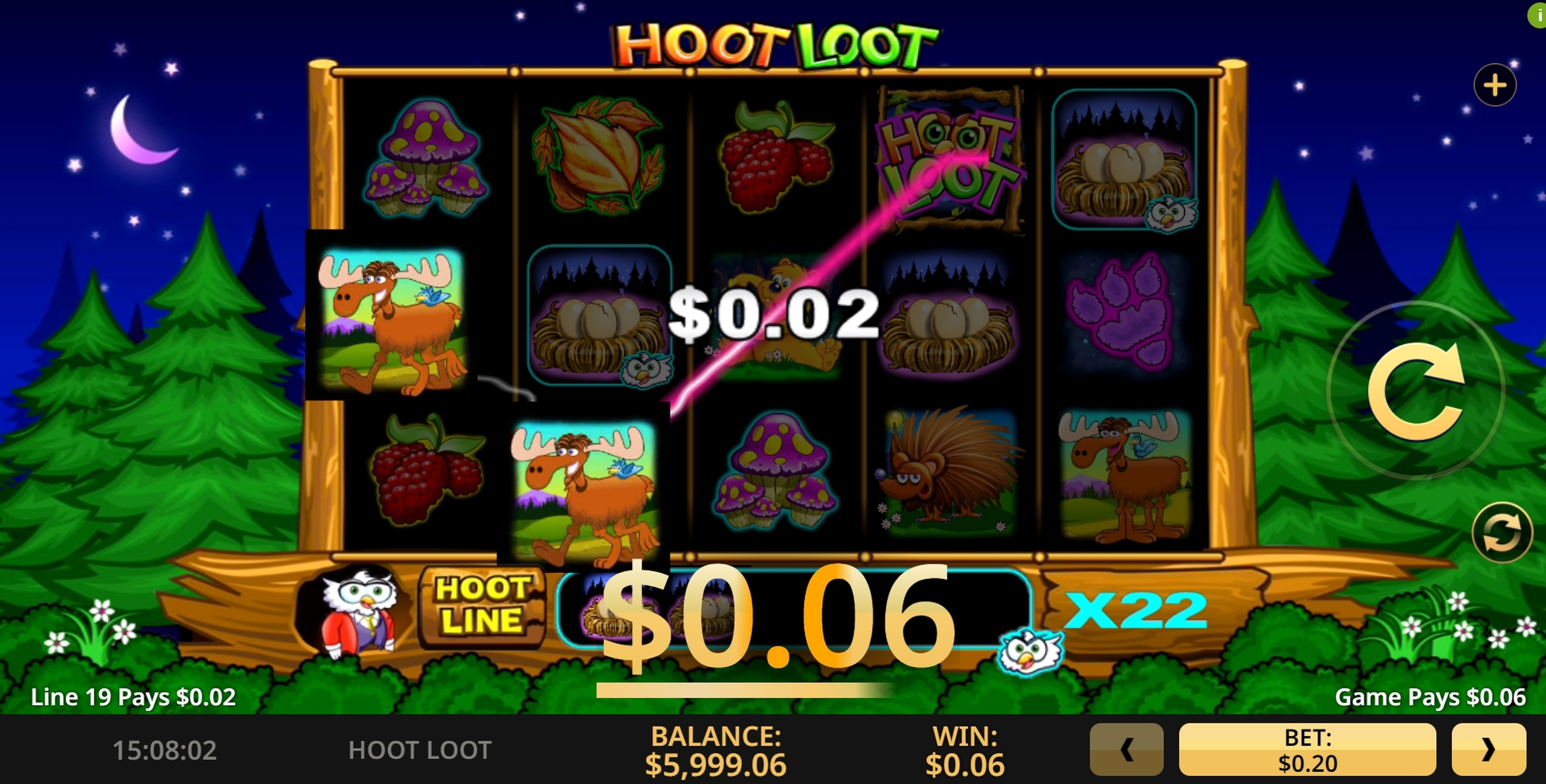 Win Money in Hoot Loot Free Slot Game by High 5 Games