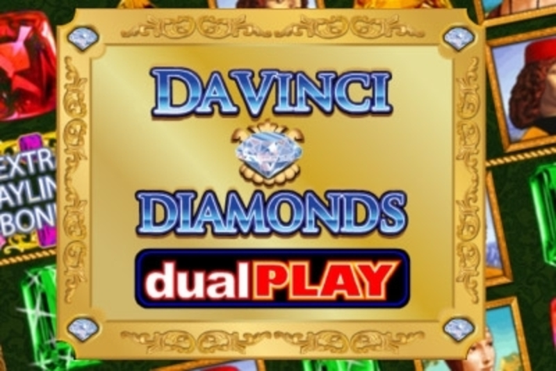 The Da Vinci Diamonds Dual Play Online Slot Demo Game by IGT