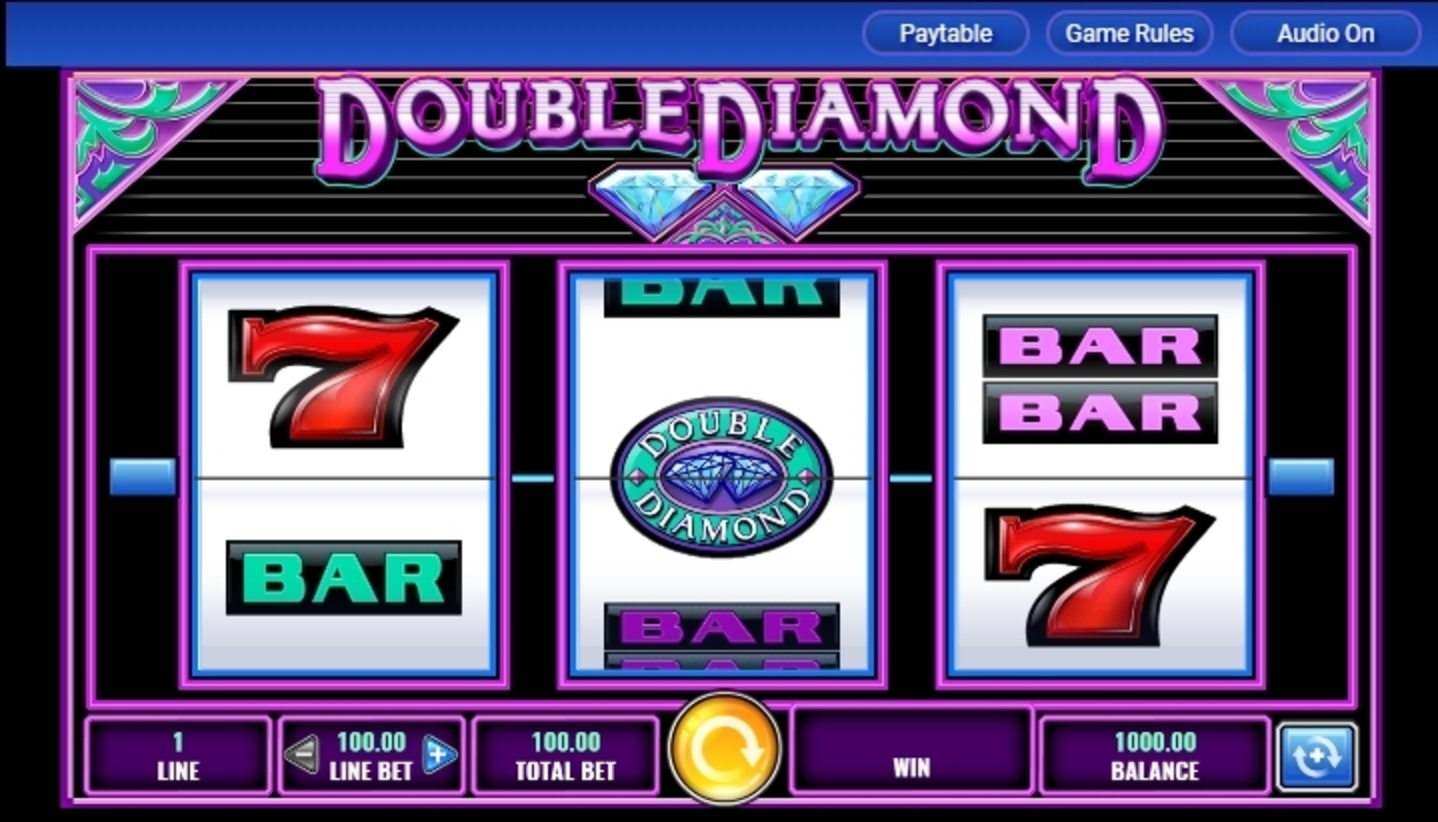 Reels in Double Diamond Slot Game by IGT