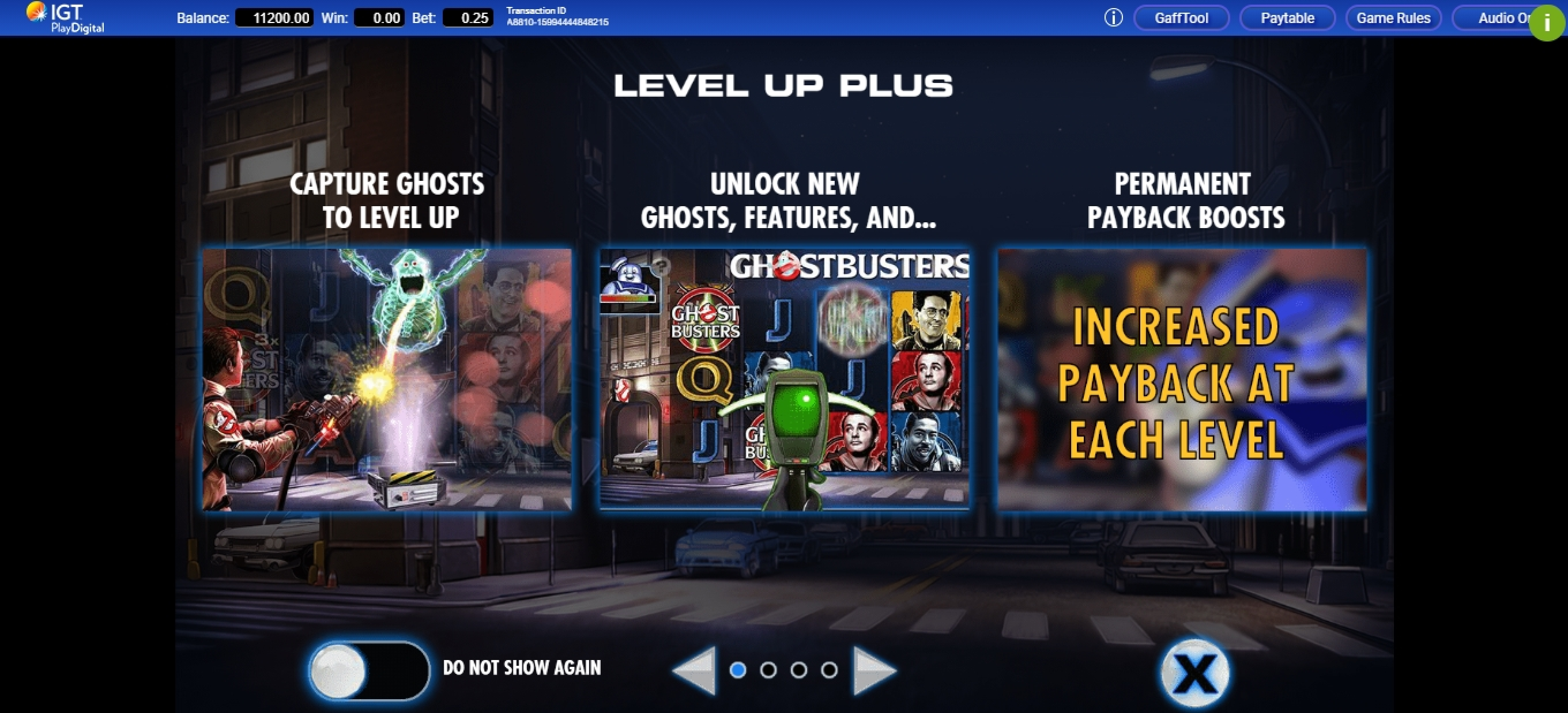 Play Ghostbusters Plus Free Casino Slot Game by IGT