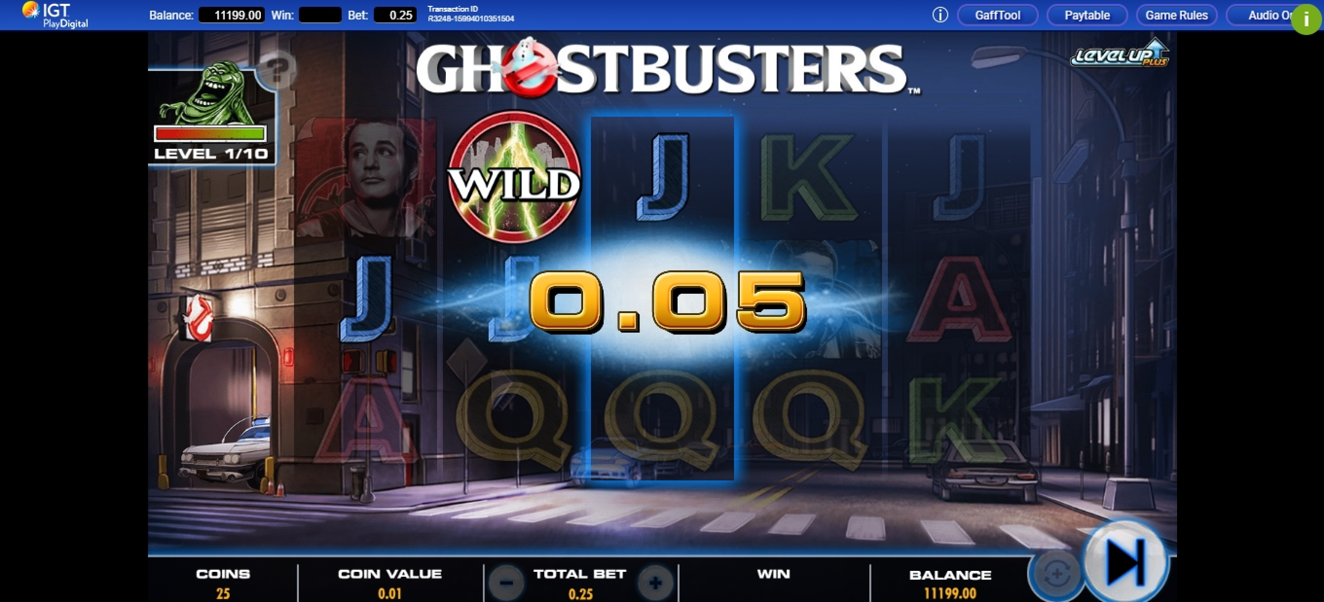 Win Money in Ghostbusters Plus Free Slot Game by IGT