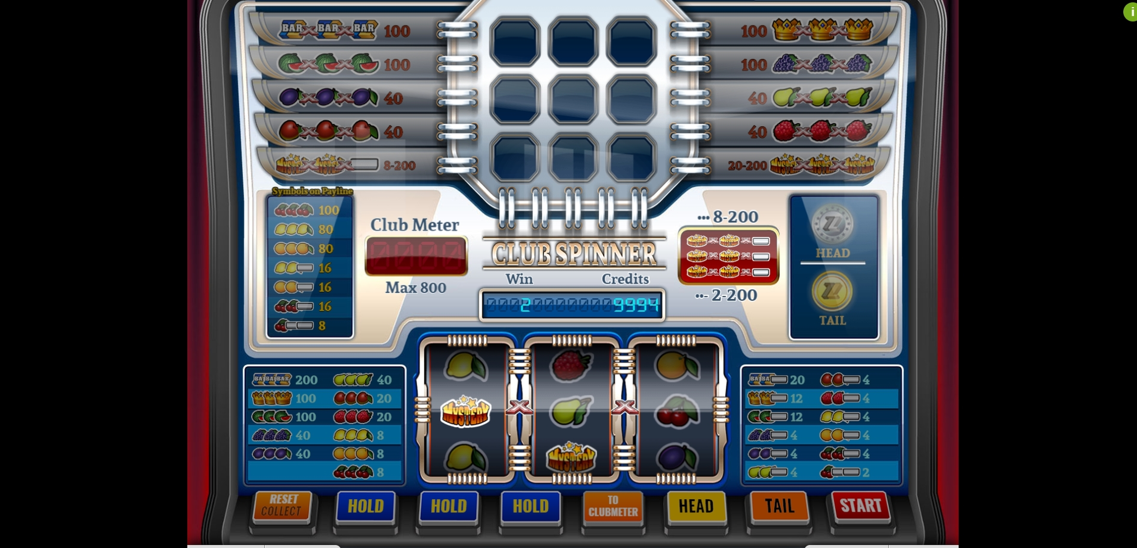 Win Money in Club Spinner Free Slot Game by Imagina