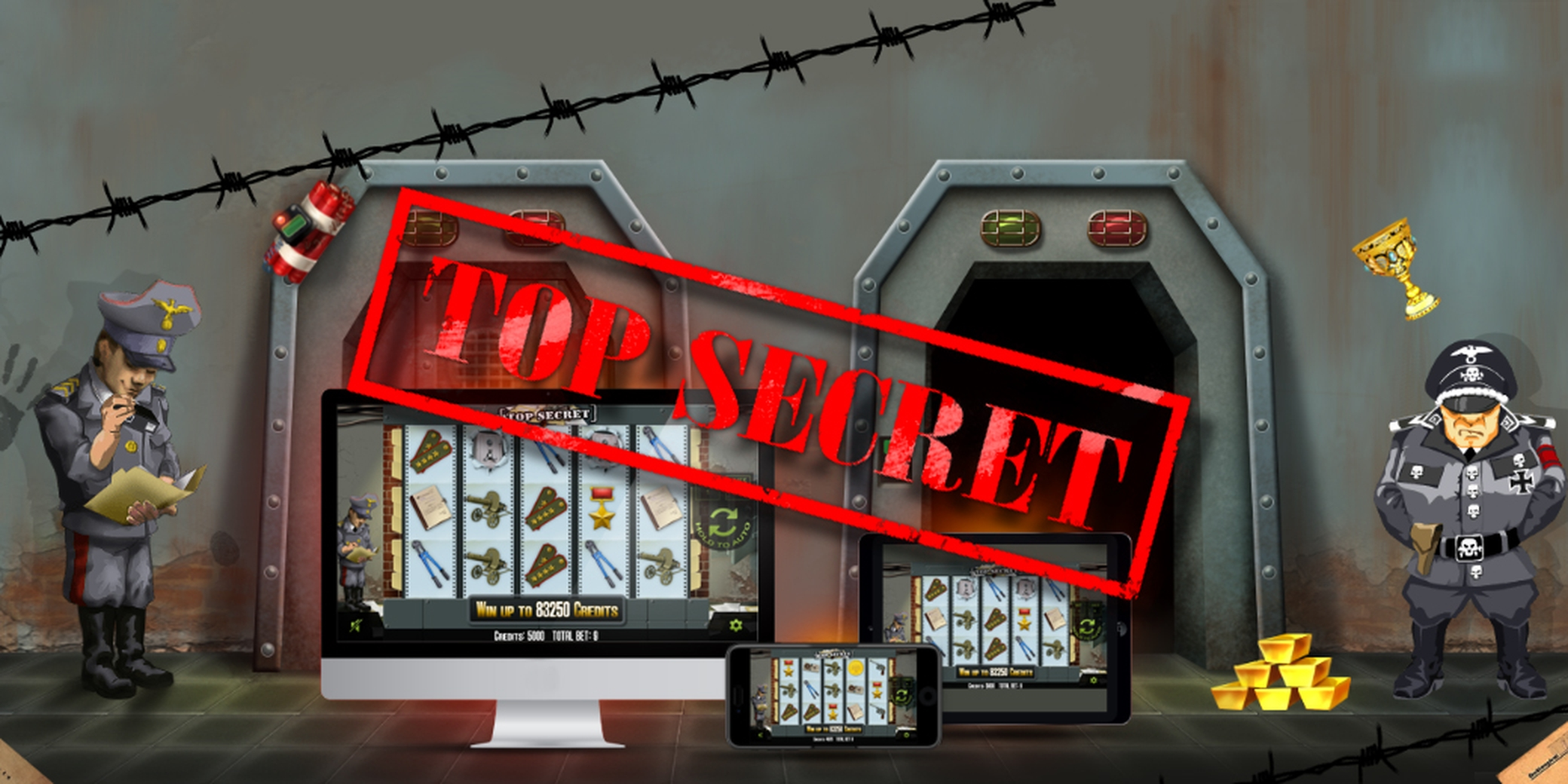 The Top Secret Online Slot Demo Game by Inbet Games