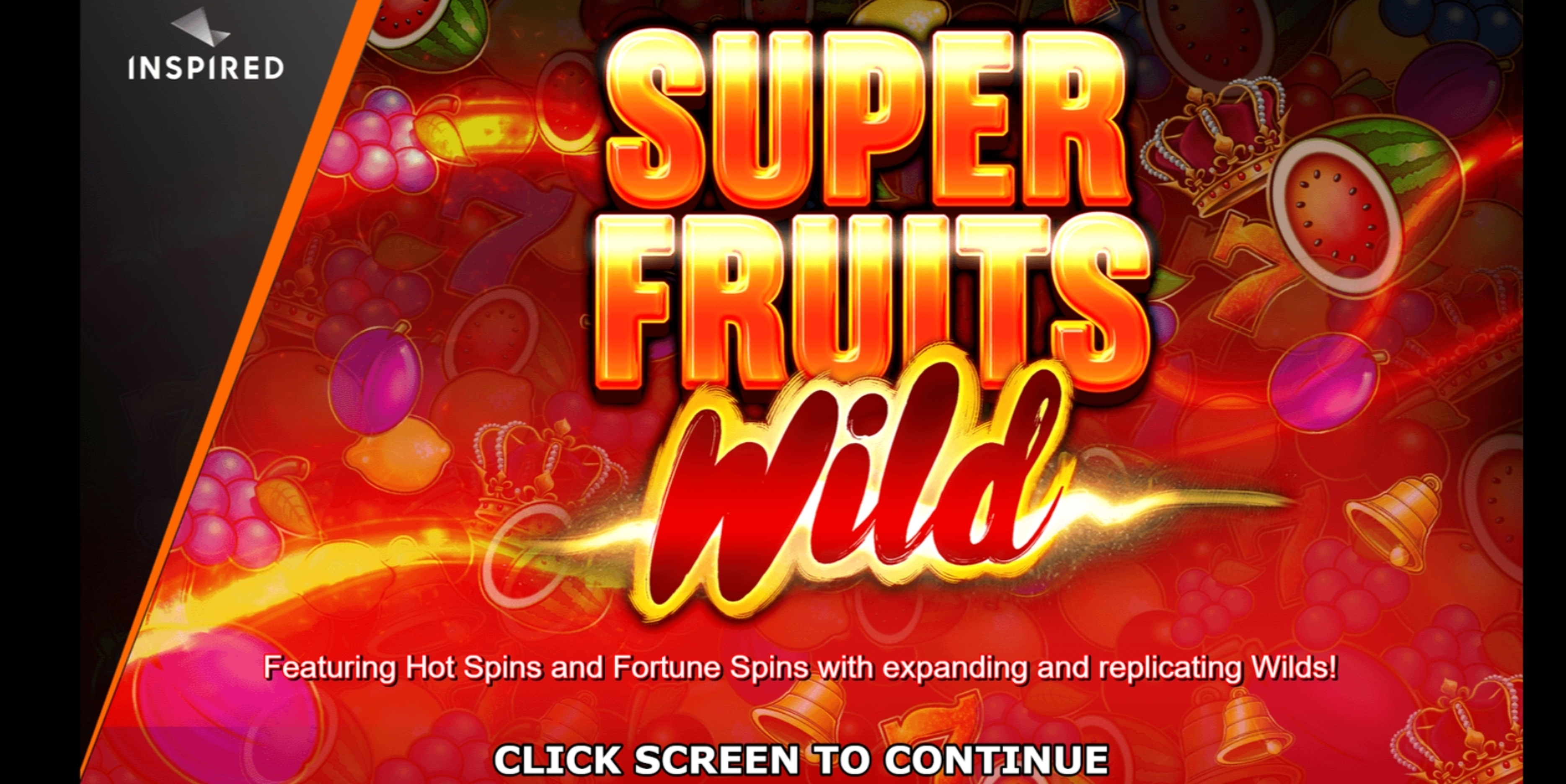 Play Super Fruits Wild Free Casino Slot Game by Inspired Gaming