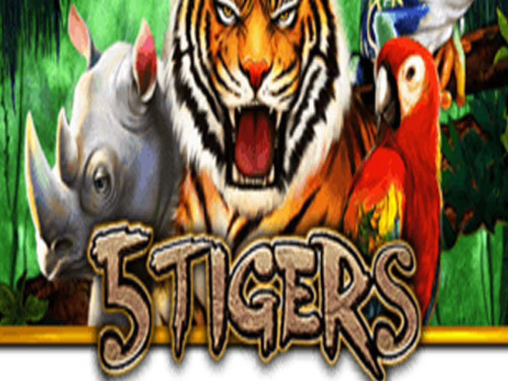 The 5 Tigers Online Slot Demo Game by PlayStar