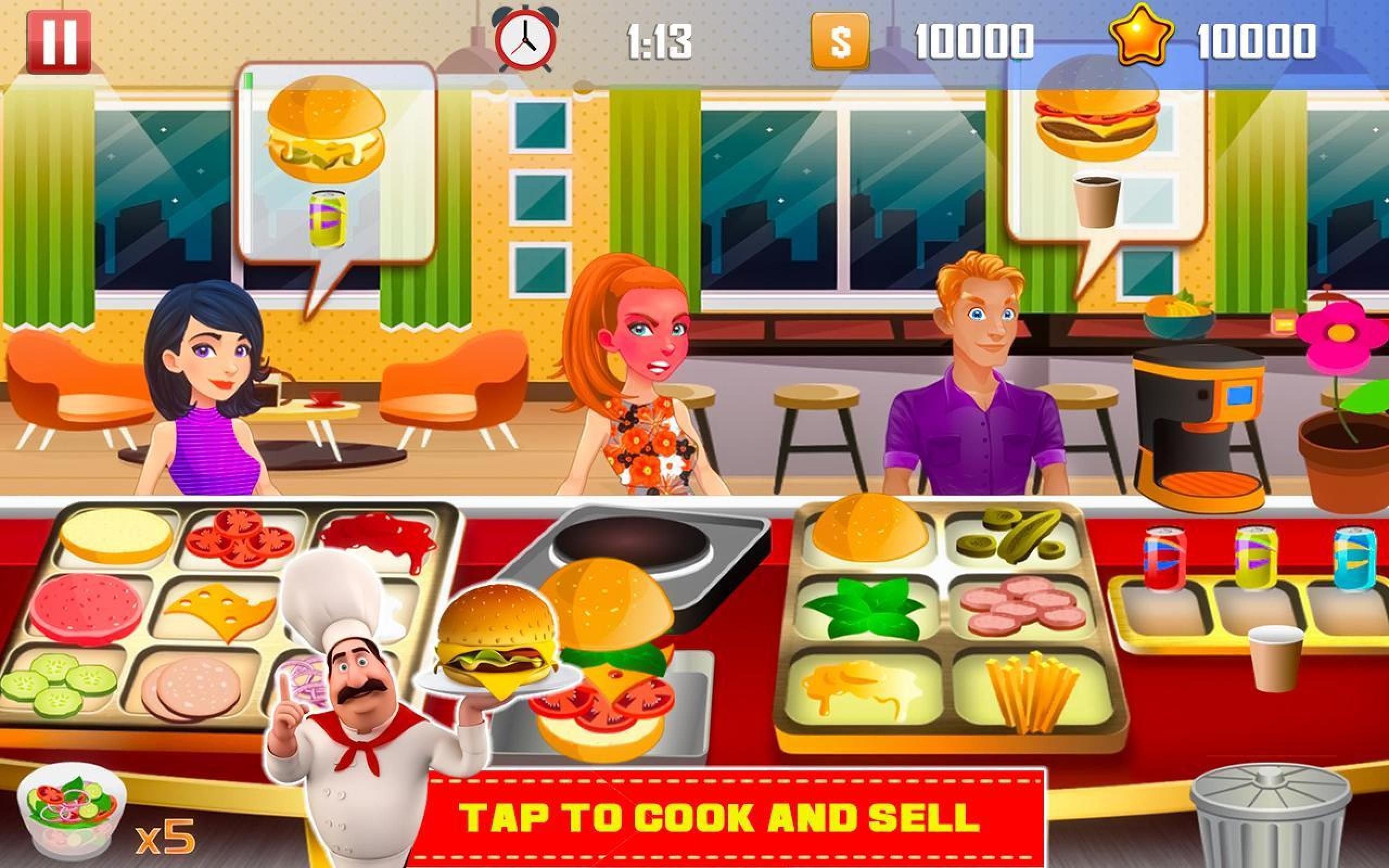 The Best Chef Online Slot Demo Game by PlayStar