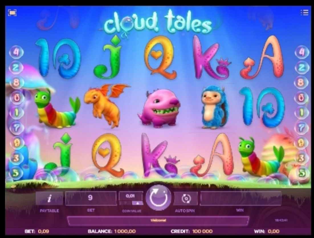 Reels in Cloud Tales Slot Game by iSoftBet