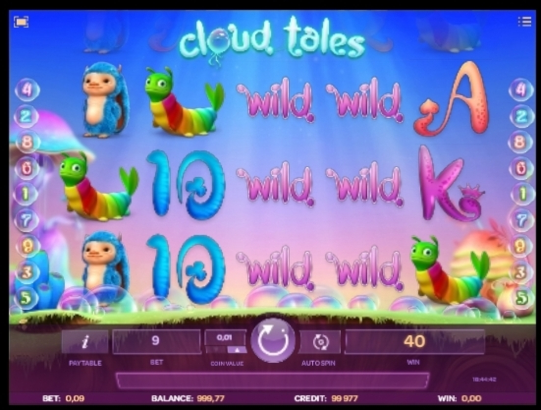 Win Money in Cloud Tales Free Slot Game by iSoftBet