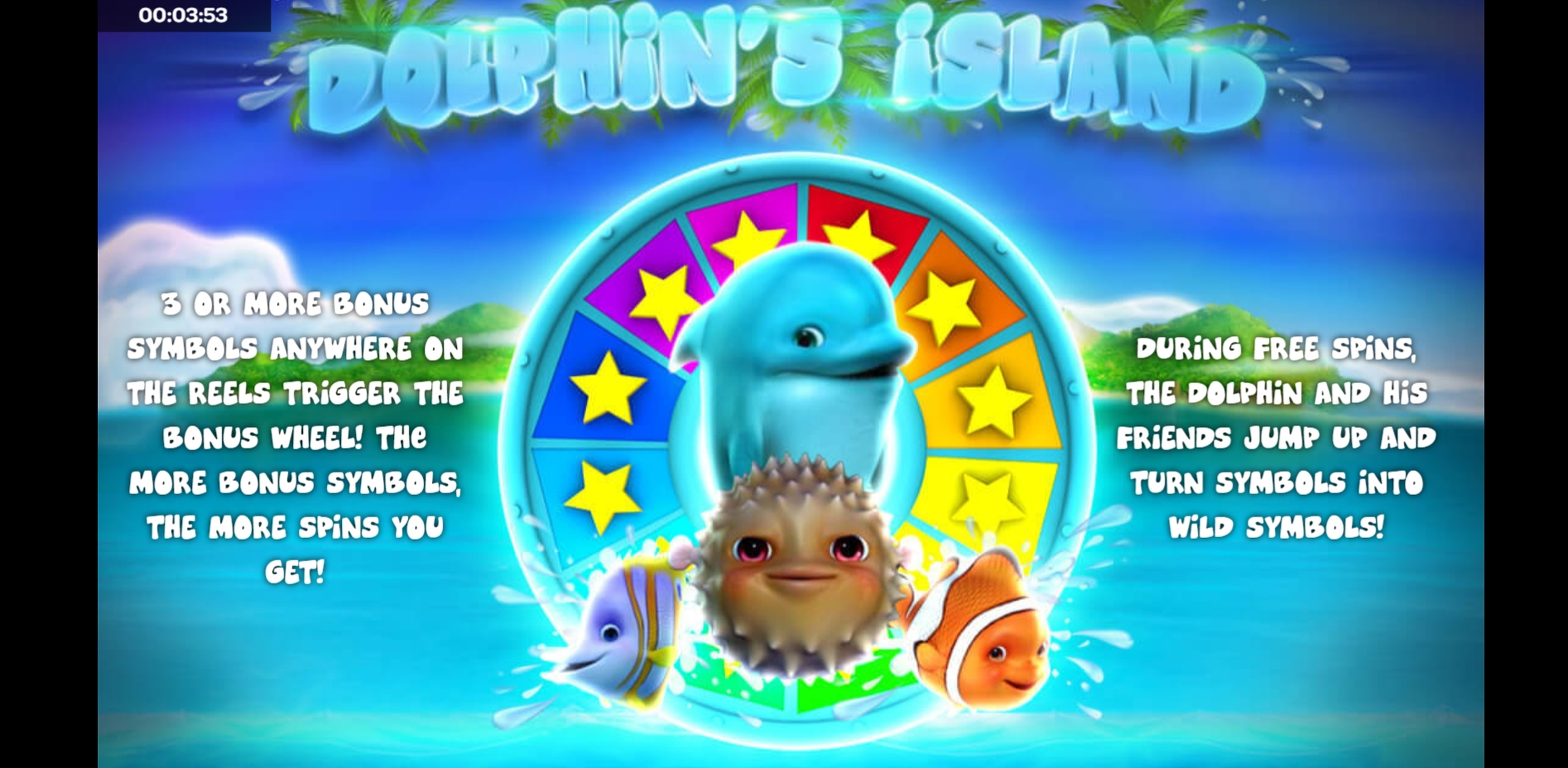 Play Dolphin's Island Free Casino Slot Game by iSoftBet