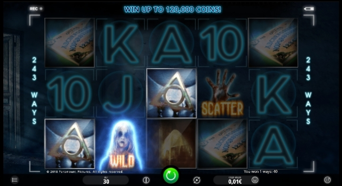 Win Money in Paranormal Activity Free Slot Game by iSoftBet