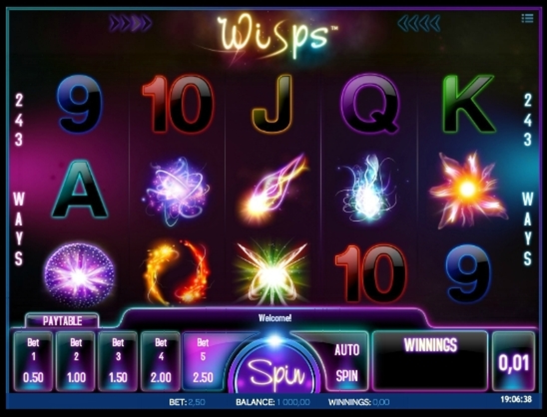 Reels in Wisps Slot Game by iSoftBet
