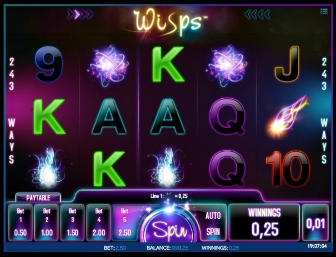 Win Money in Wisps Free Slot Game by iSoftBet