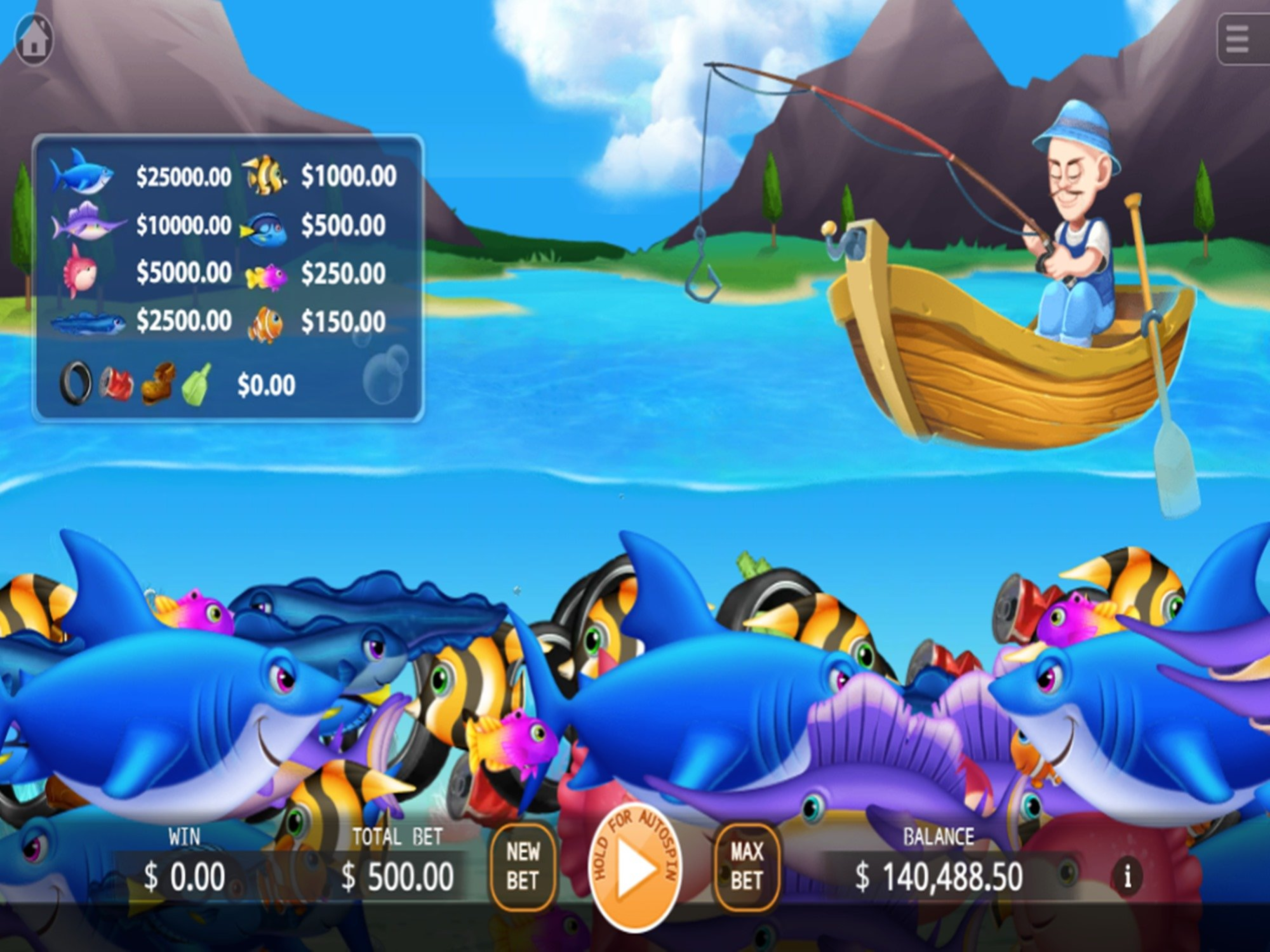 The Fishing Expedition Online Slot Demo Game by KA Gaming