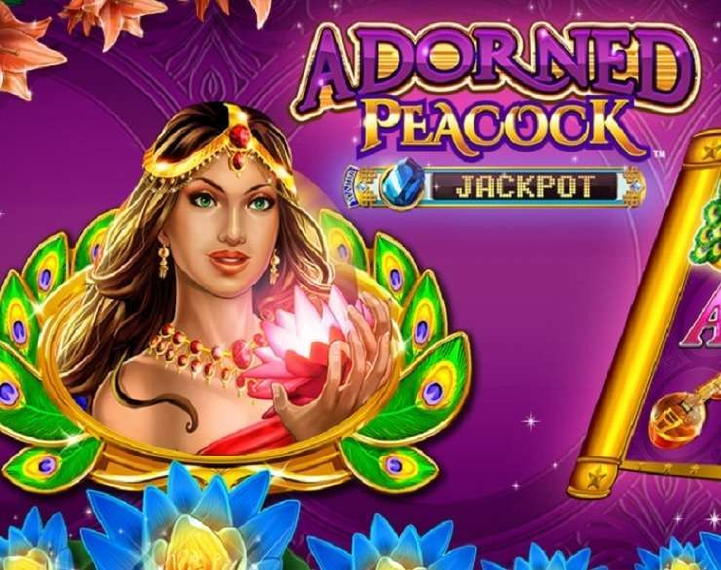 The Adorned Peacock Online Slot Demo Game by Konami